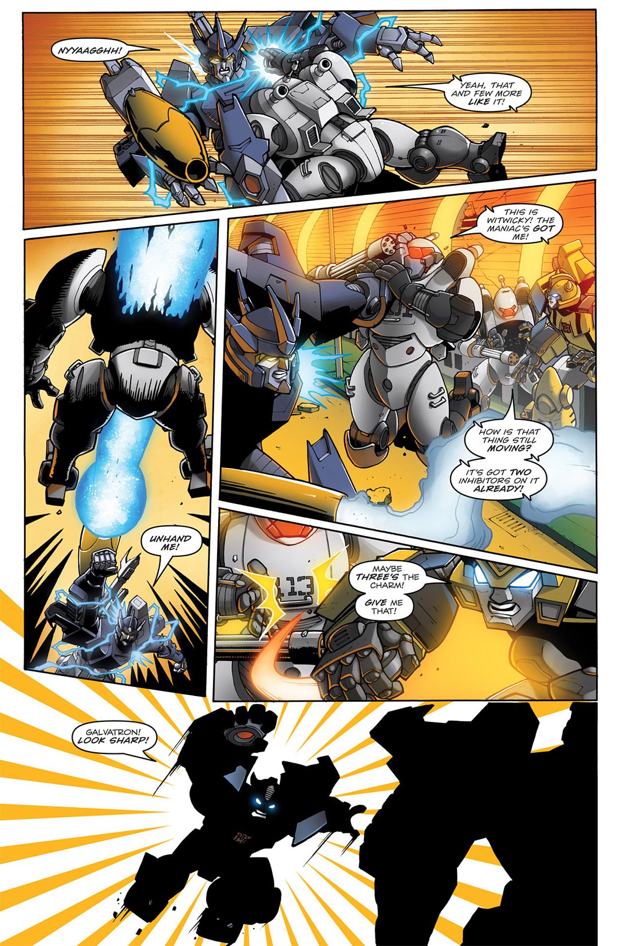 Read online Transformers: Infestation comic -  Issue #1 - 18