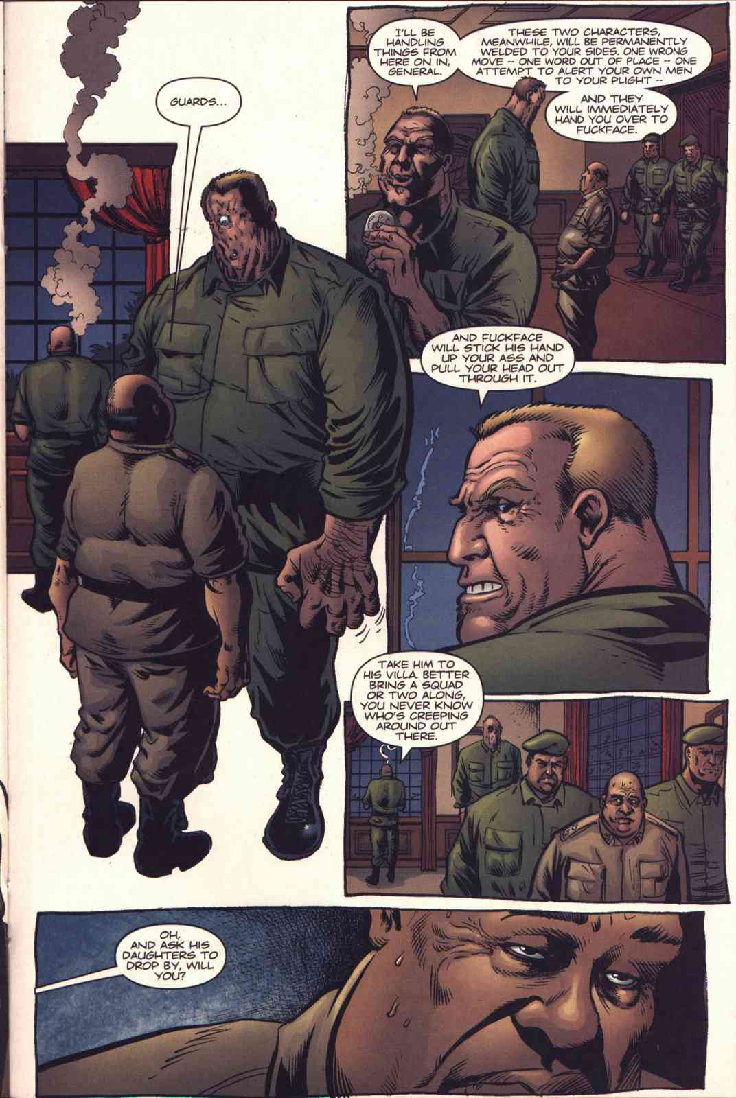 Read online Fury comic -  Issue #4 - 17