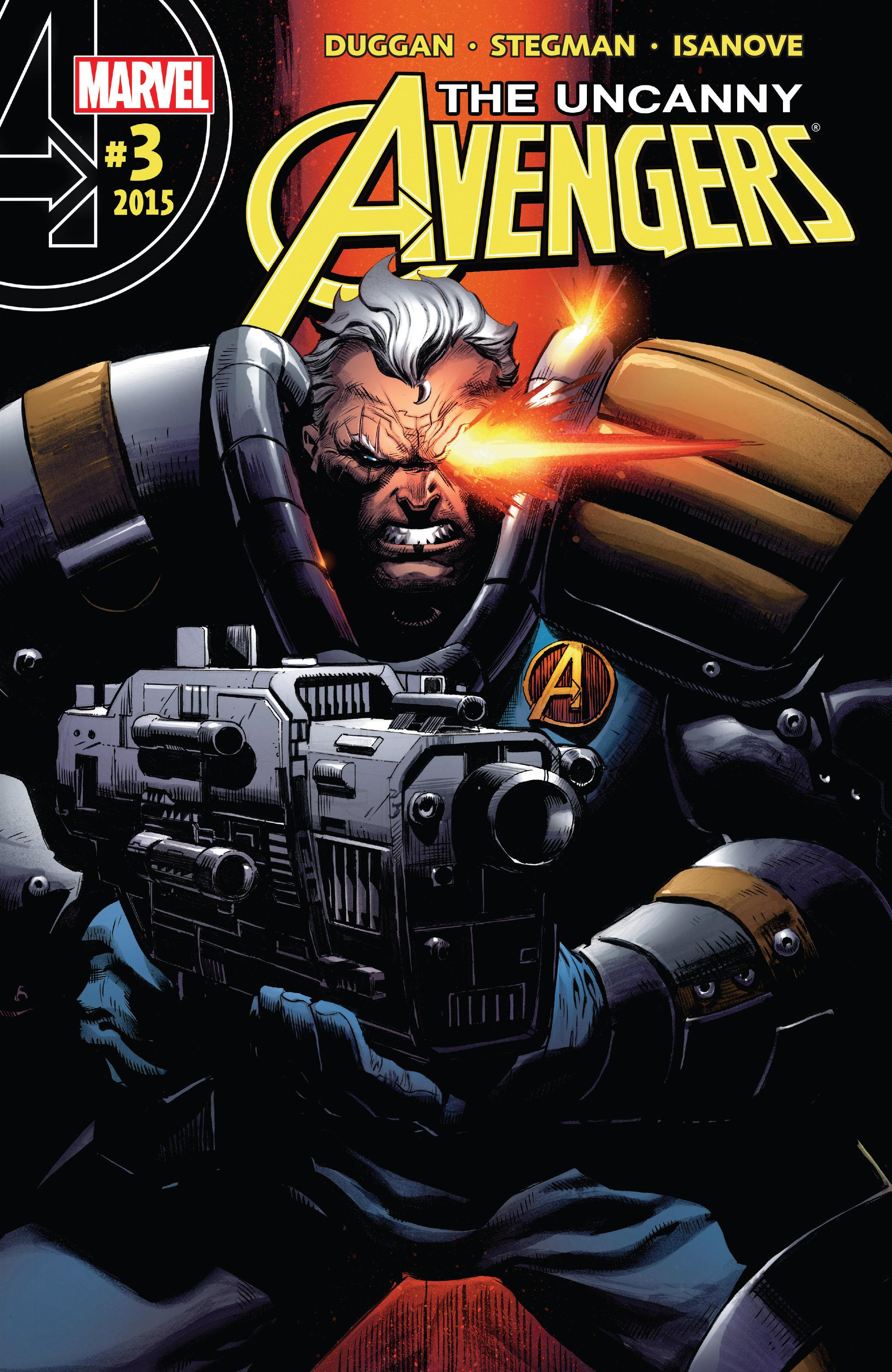 Read online Uncanny Avengers [II] comic -  Issue #3 - 1