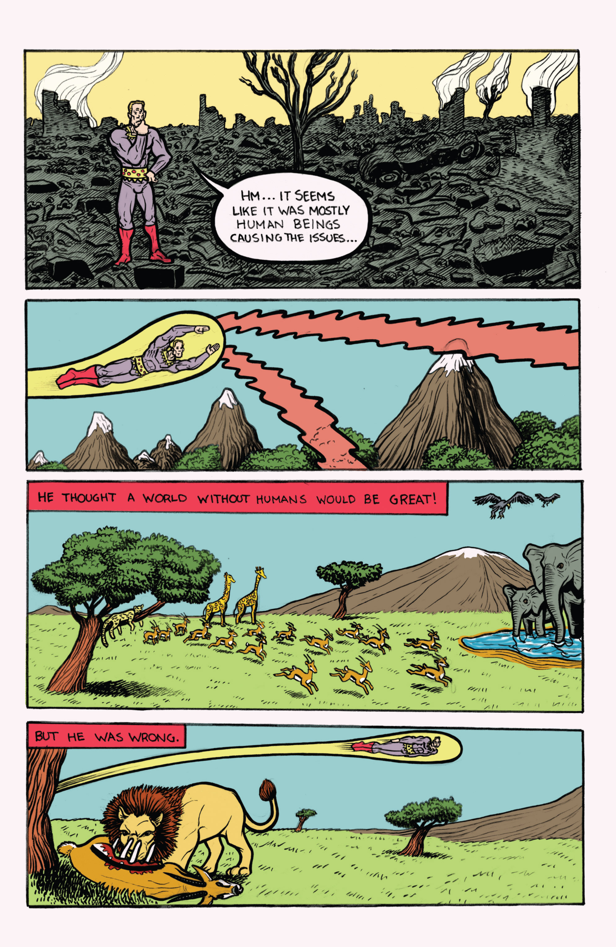 Read online Amazing Forest (2016) comic -  Issue #2 - 22