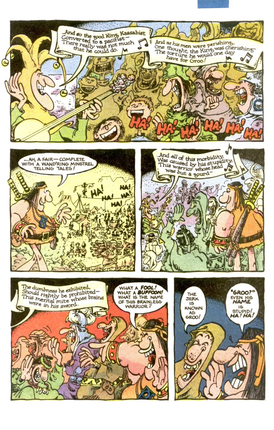 Read online Sergio Aragonés Groo the Wanderer comic -  Issue #1 - 21