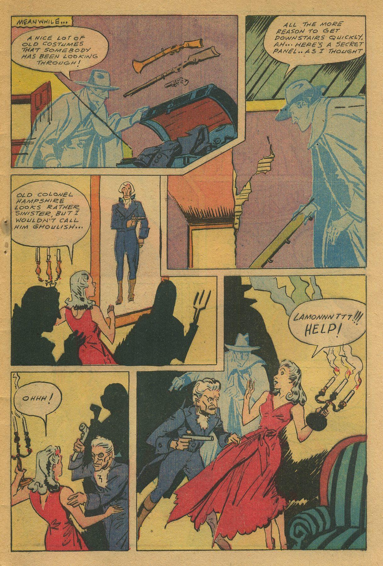 Read online Shadow Comics comic -  Issue #49 - 47
