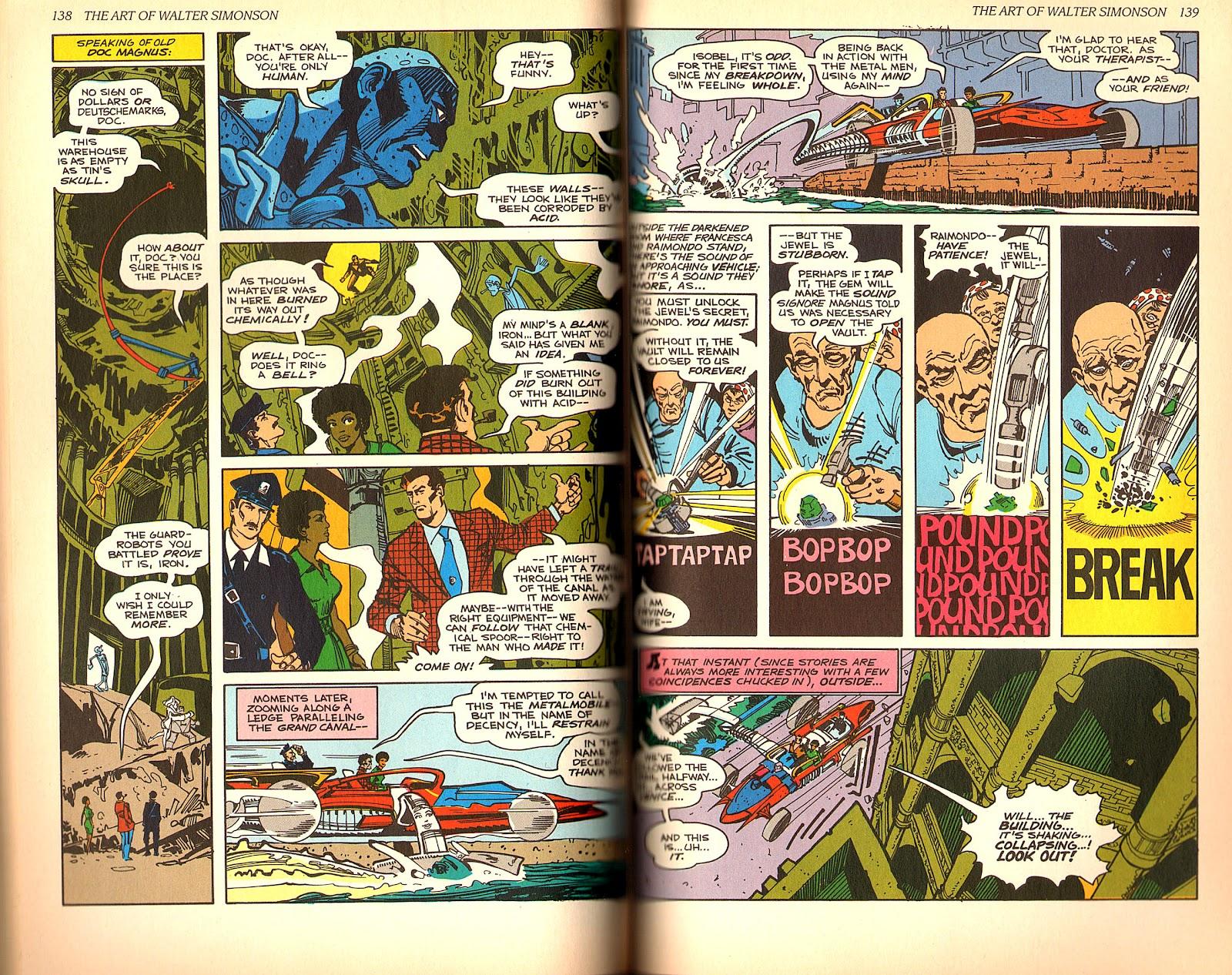 Read online The Art of Walter Simonson comic -  Issue # TPB - 71