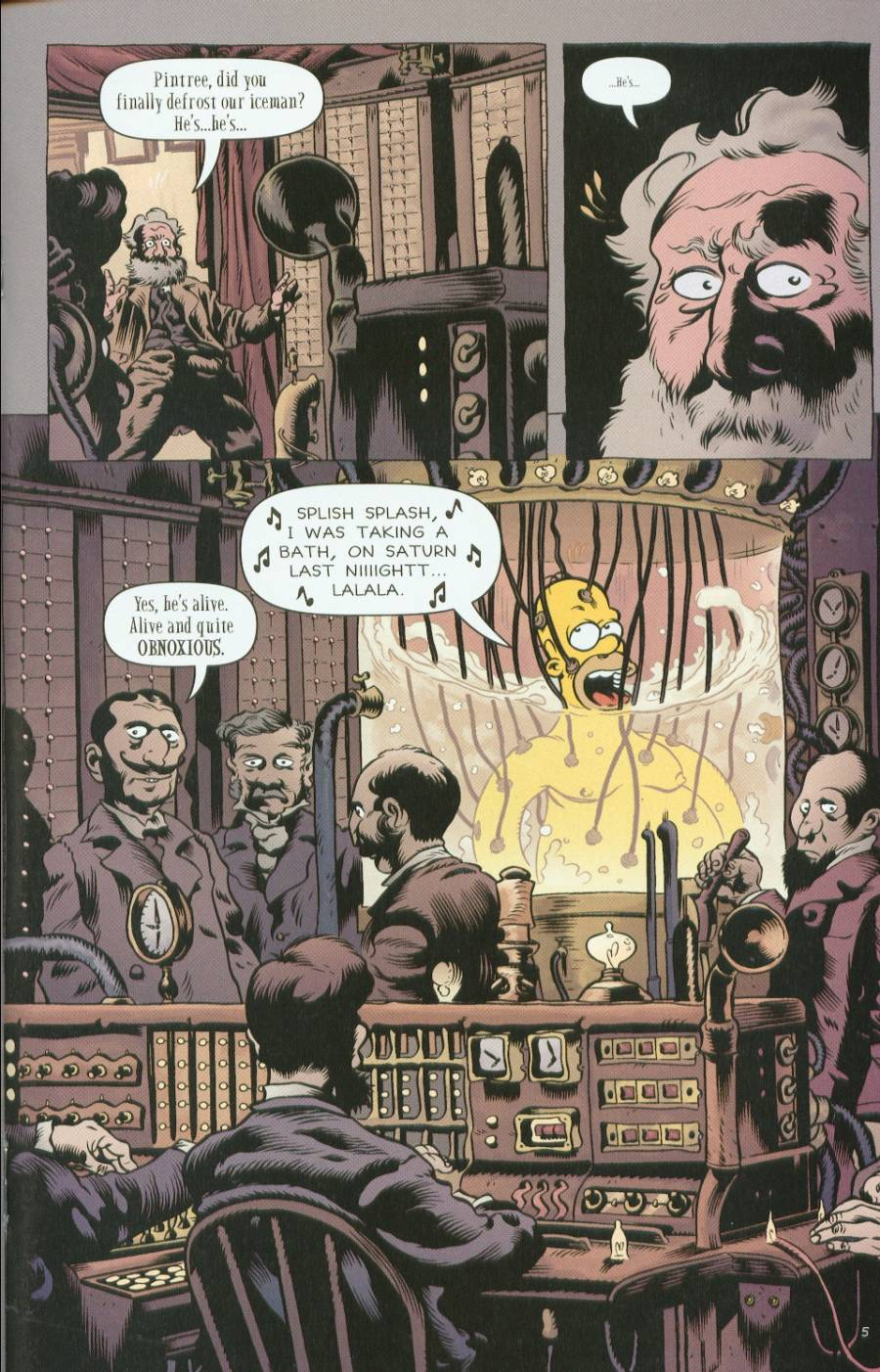 Read online Treehouse of Horror comic -  Issue #7 - 33