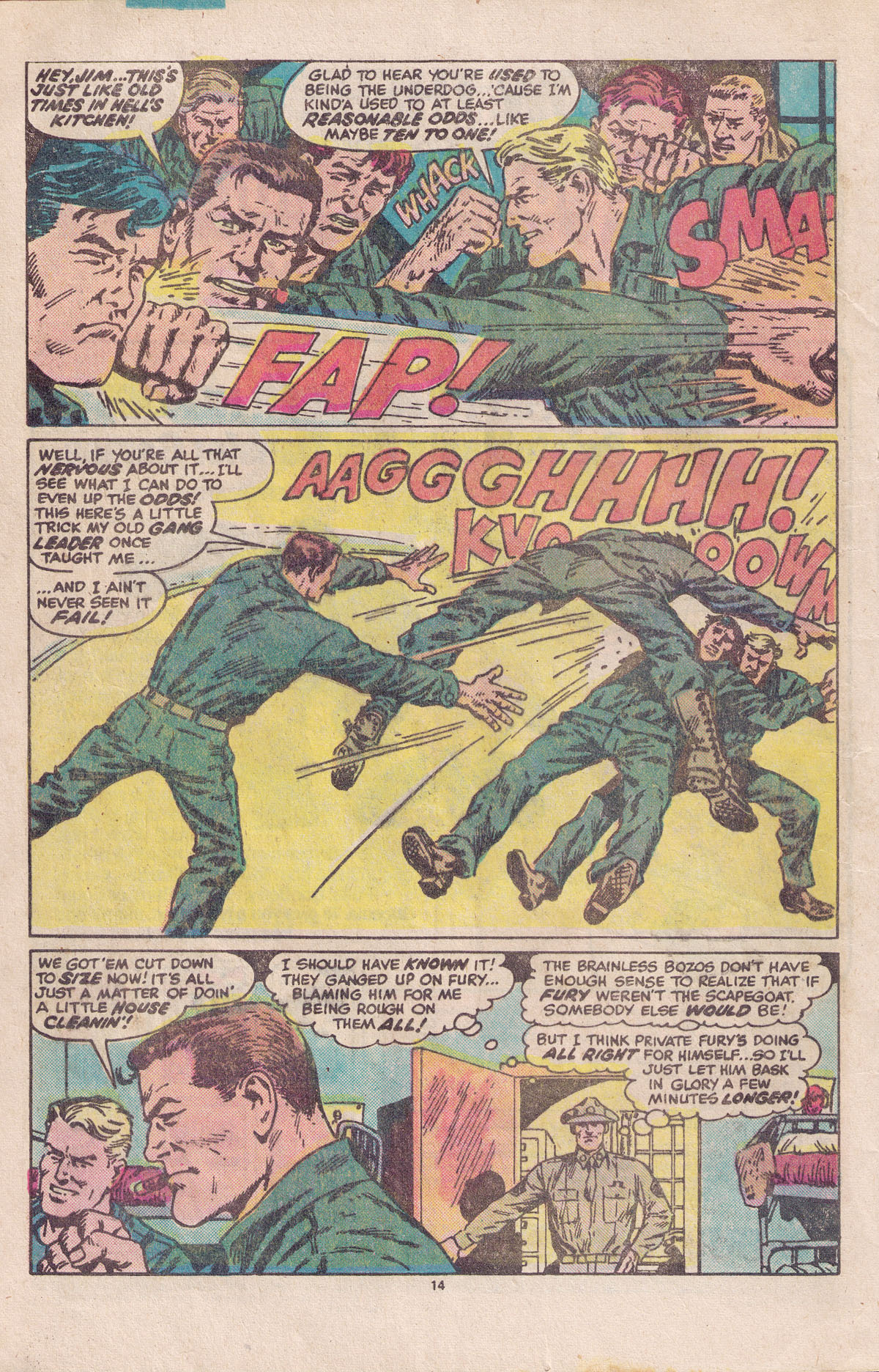 Read online Sgt. Fury comic -  Issue #158 - 16