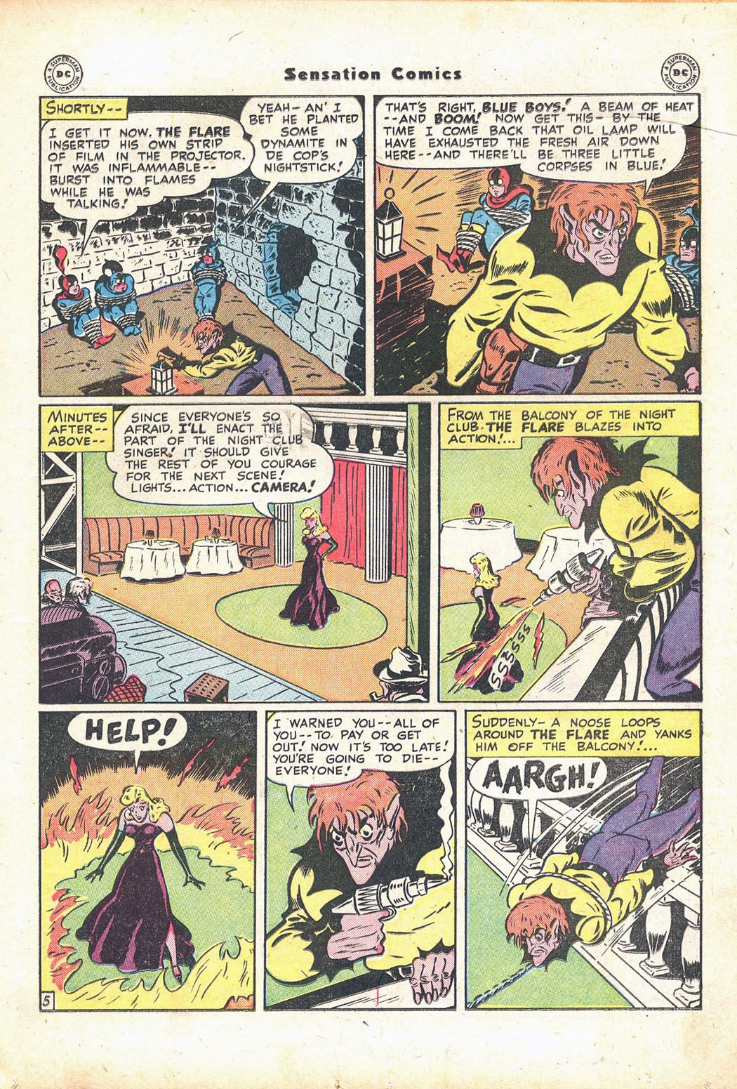 Read online Sensation (Mystery) Comics comic -  Issue #71 - 21