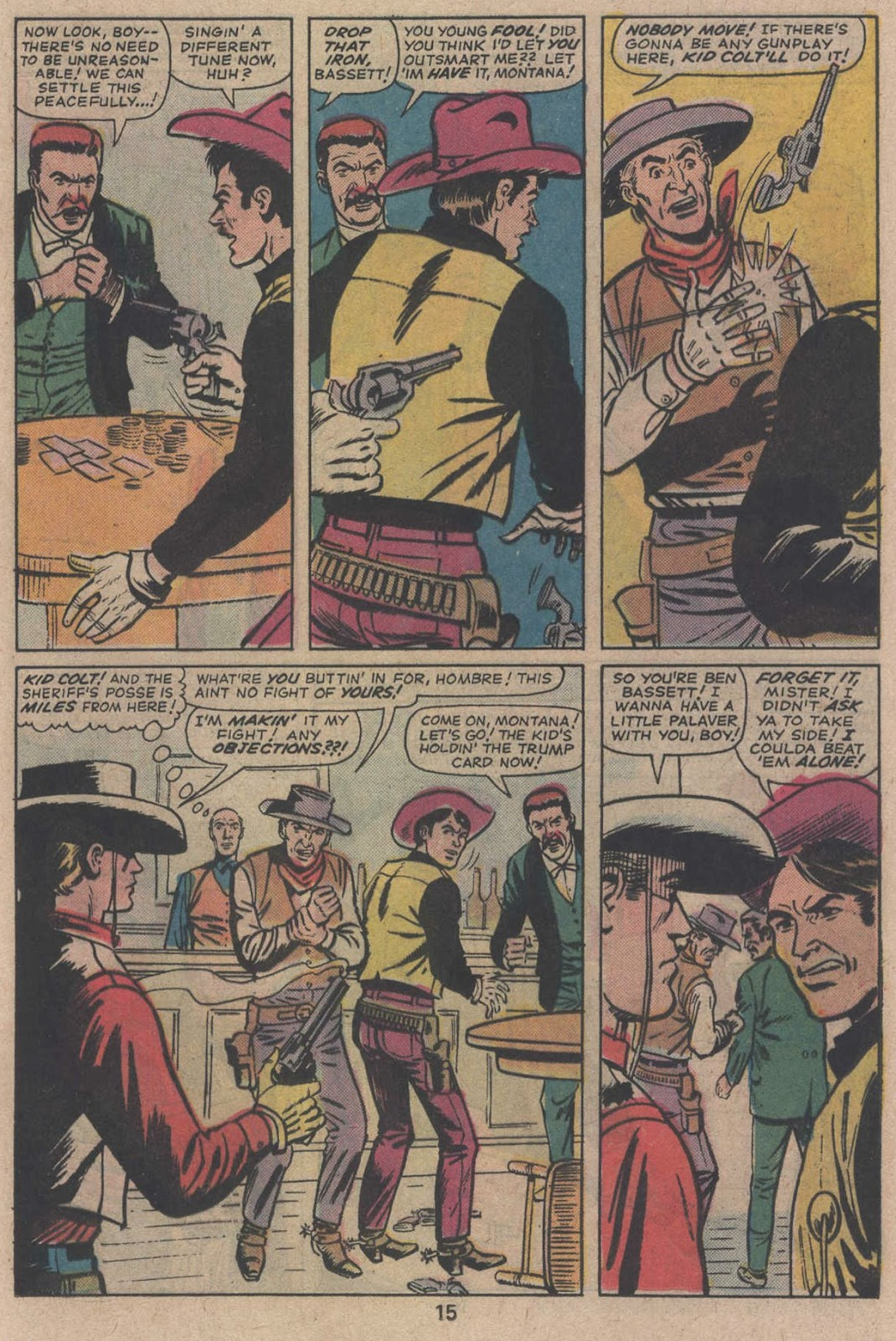 Kid Colt Outlaw issue 195 - Page 17
