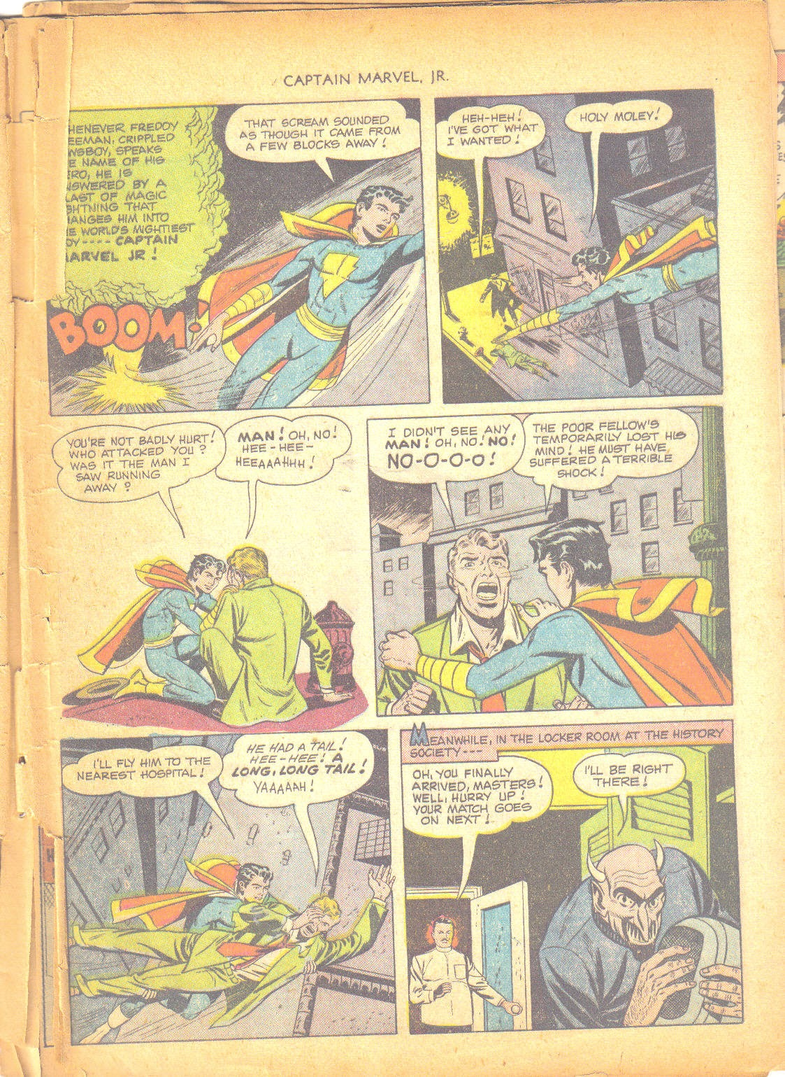 Captain Marvel, Jr. issue 95 - Page 44