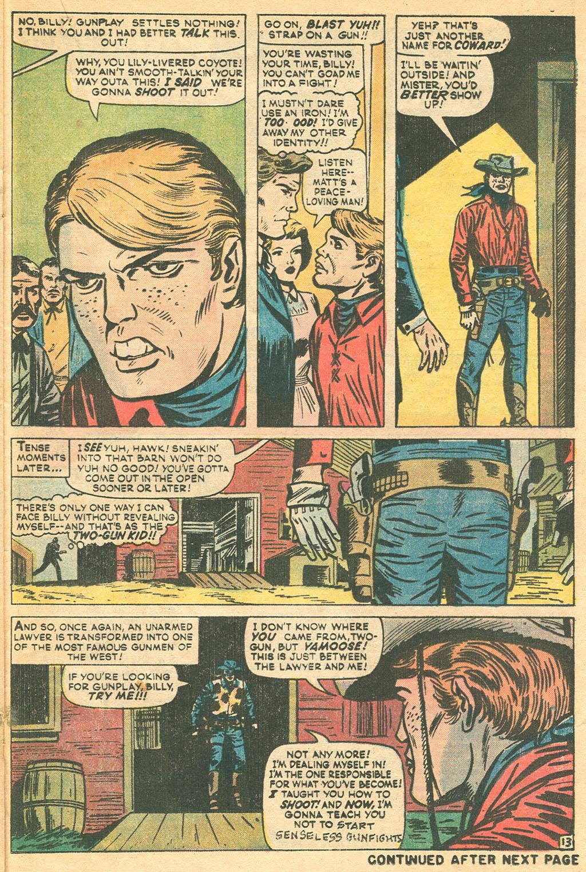 Read online Two-Gun Kid comic -  Issue #115 - 21