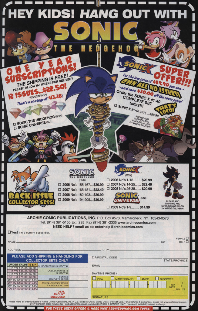 Read online Sonic Universe comic -  Issue #25 - 25