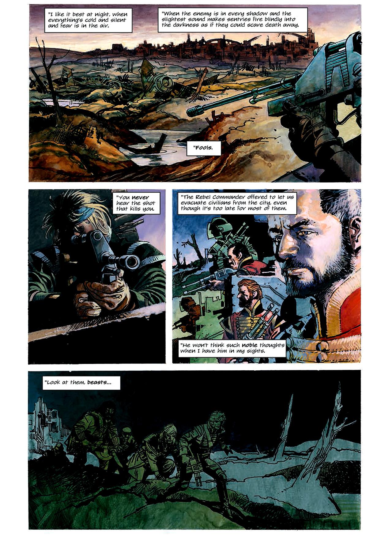 Read online Nikolai Dante comic -  Issue # TPB 4 - 59
