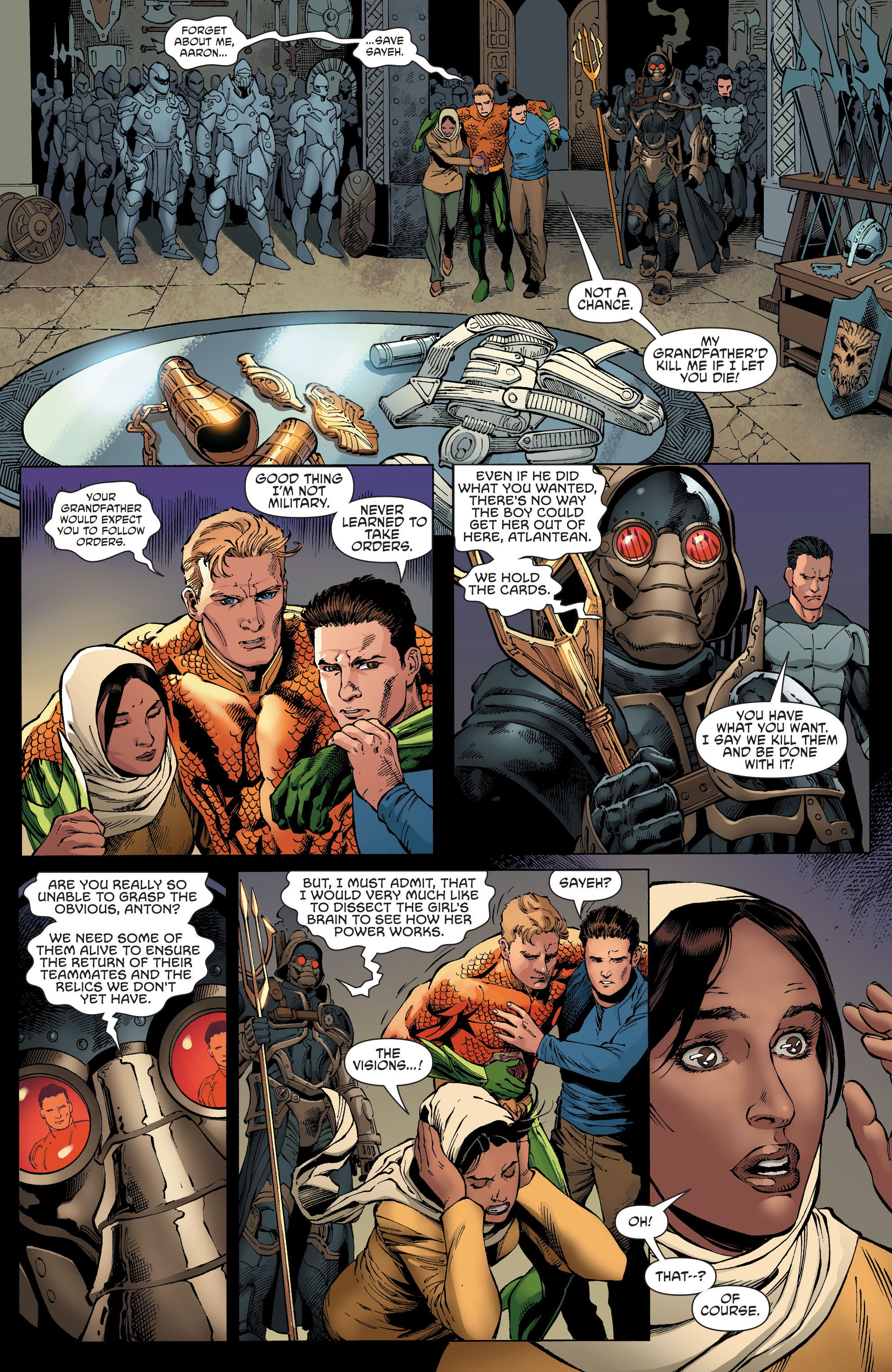 Read online Aquaman and the Others comic -  Issue #4 - 9