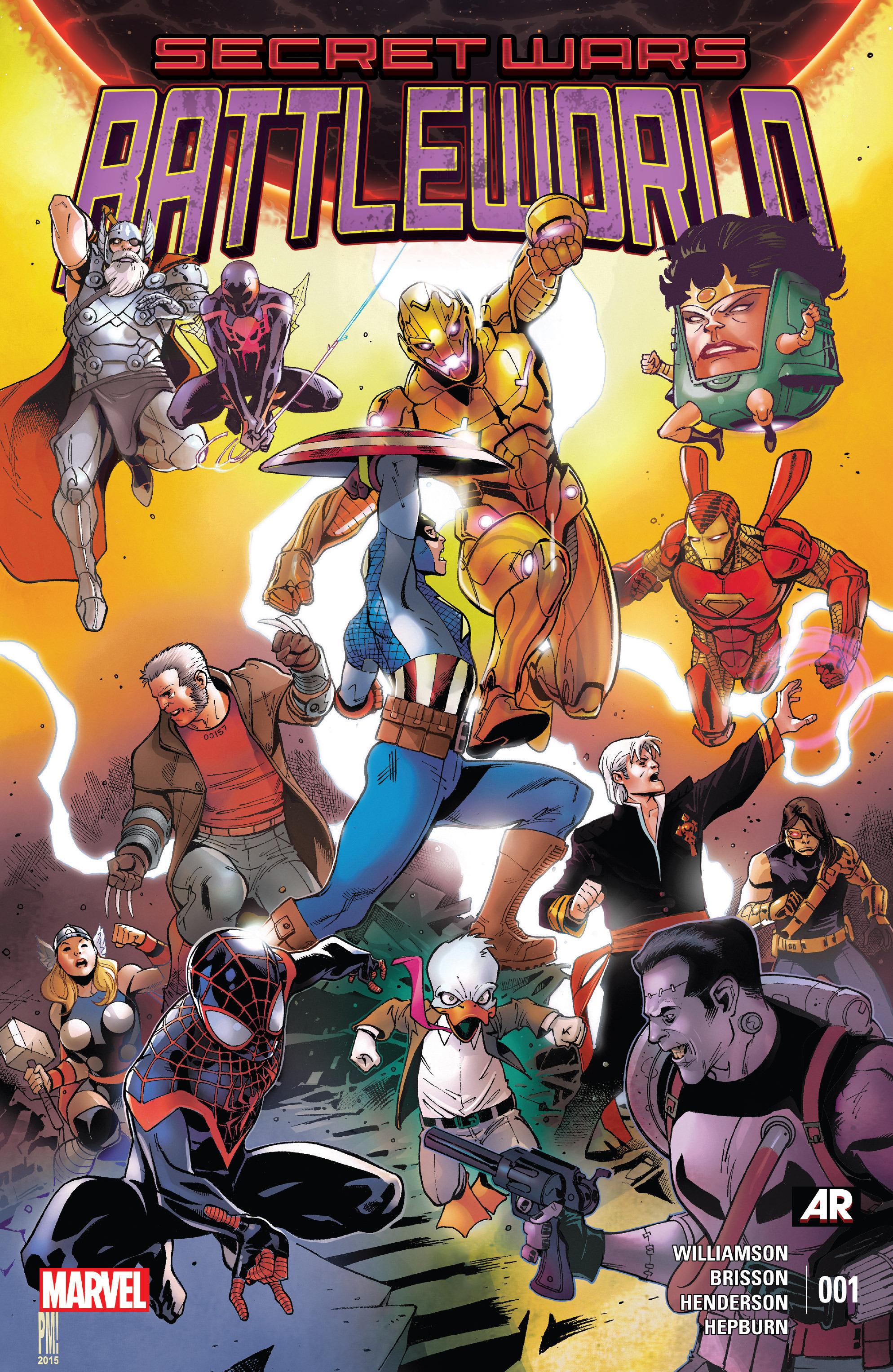 Read online Secret Wars: Battleworld comic -  Issue #1 - 1