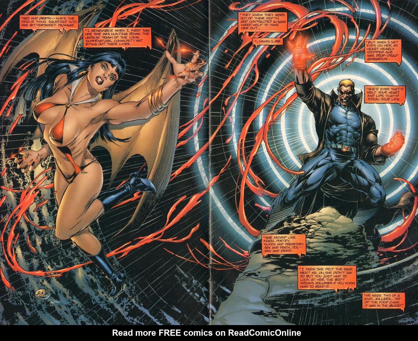 Vampirella vs Hemorrhage issue 1 - Page 10