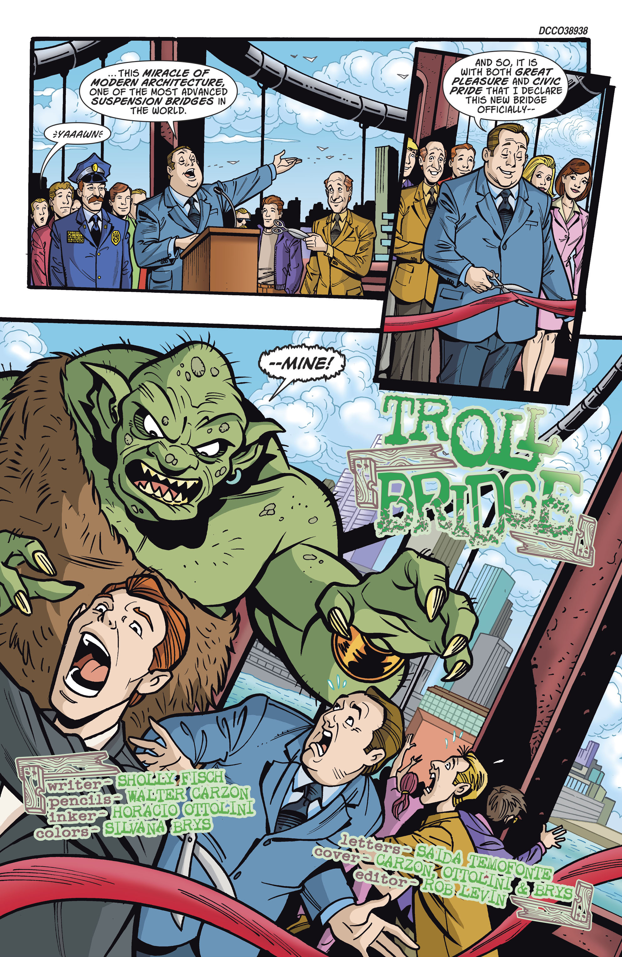 Read online Scooby-Doo: Where Are You? comic -  Issue #81 - 2