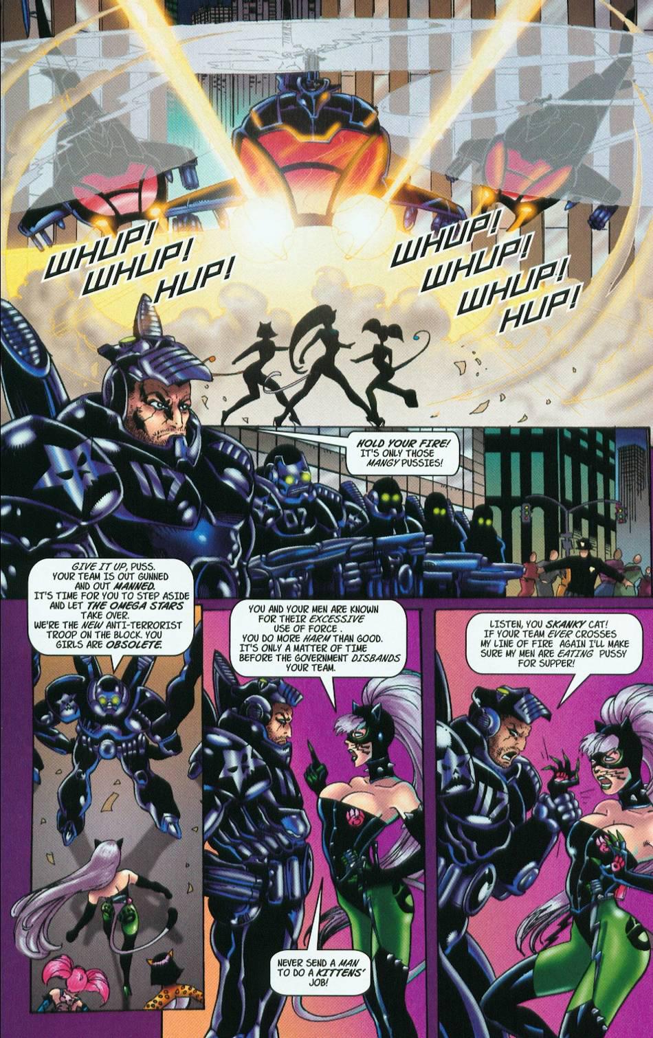 Read online 3 Little Kittens: Purrr-fect Weapons comic -  Issue #1 - 20