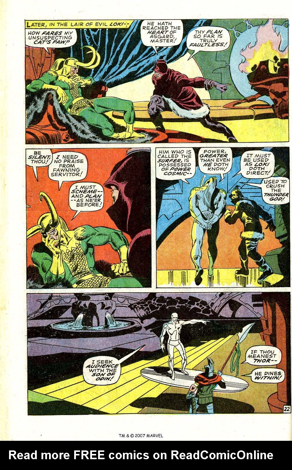 Read online Silver Surfer (1968) comic -  Issue #4 - 28