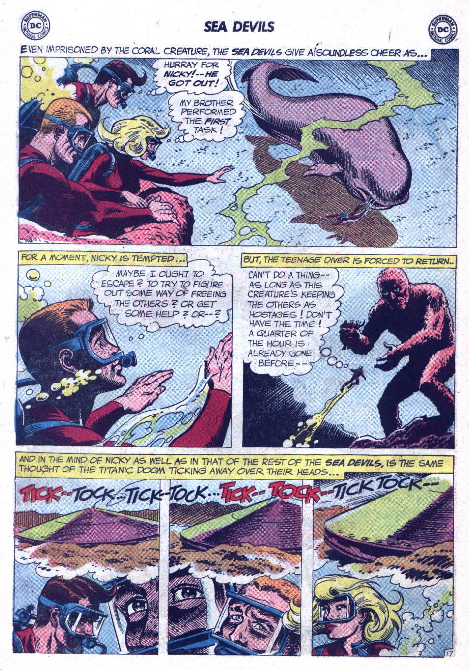 Read online Sea Devils comic -  Issue #9 - 23