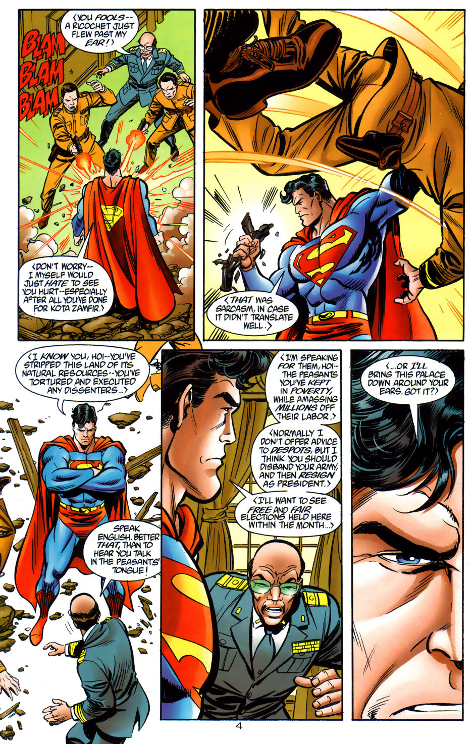 Read online Adventures of Superman (1987) comic -  Issue #565 - 5