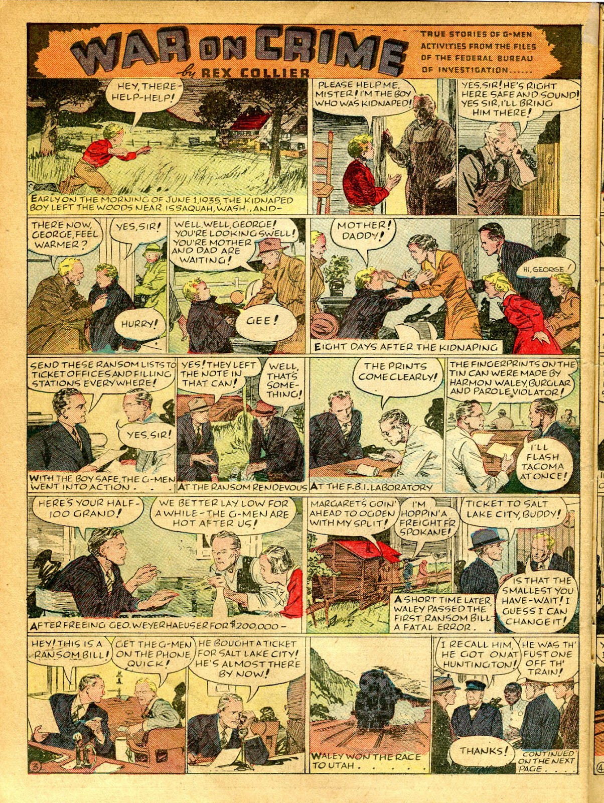 Read online Famous Funnies comic -  Issue #41 - 24