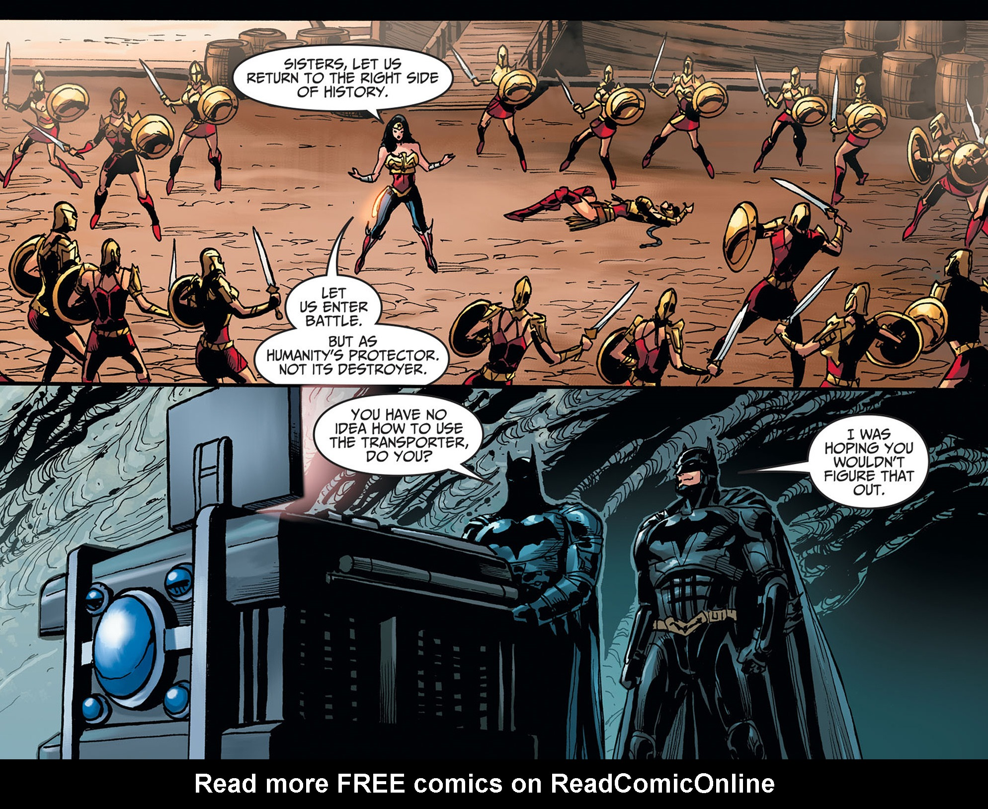 Read online Injustice: Ground Zero comic -  Issue #22 - 21