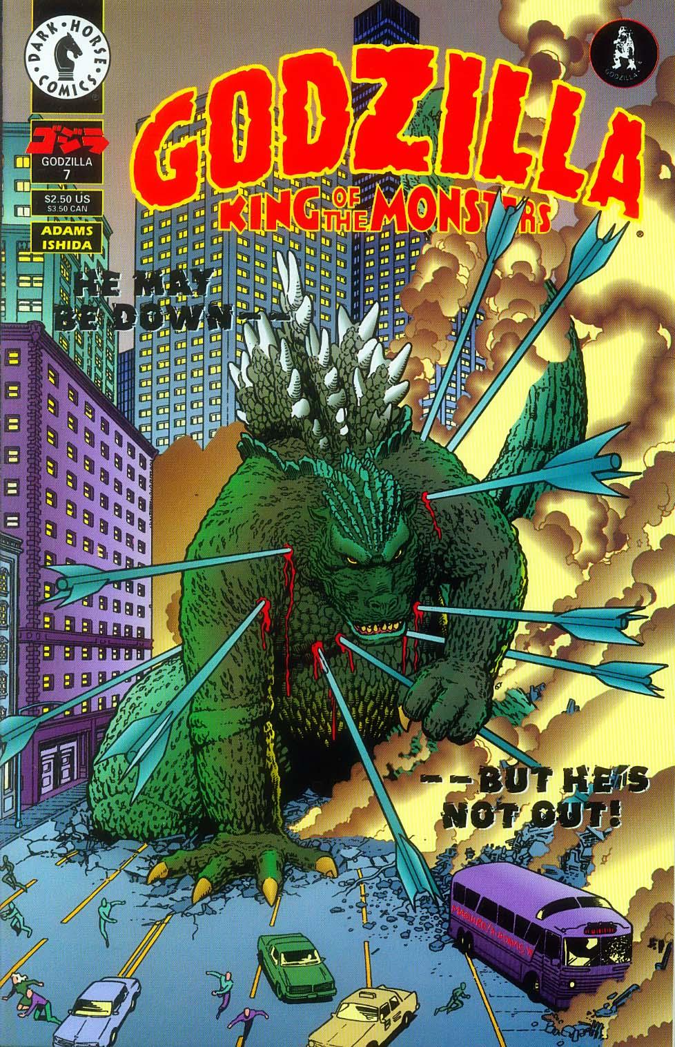 Godzilla (1995) Issue #7 #8 - English 2