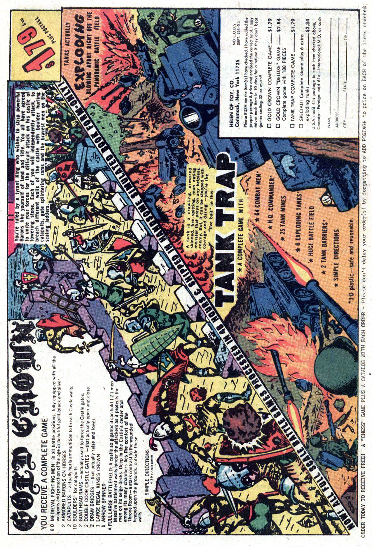 Read online Amazing Adventures (1970) comic -  Issue #28 - 30