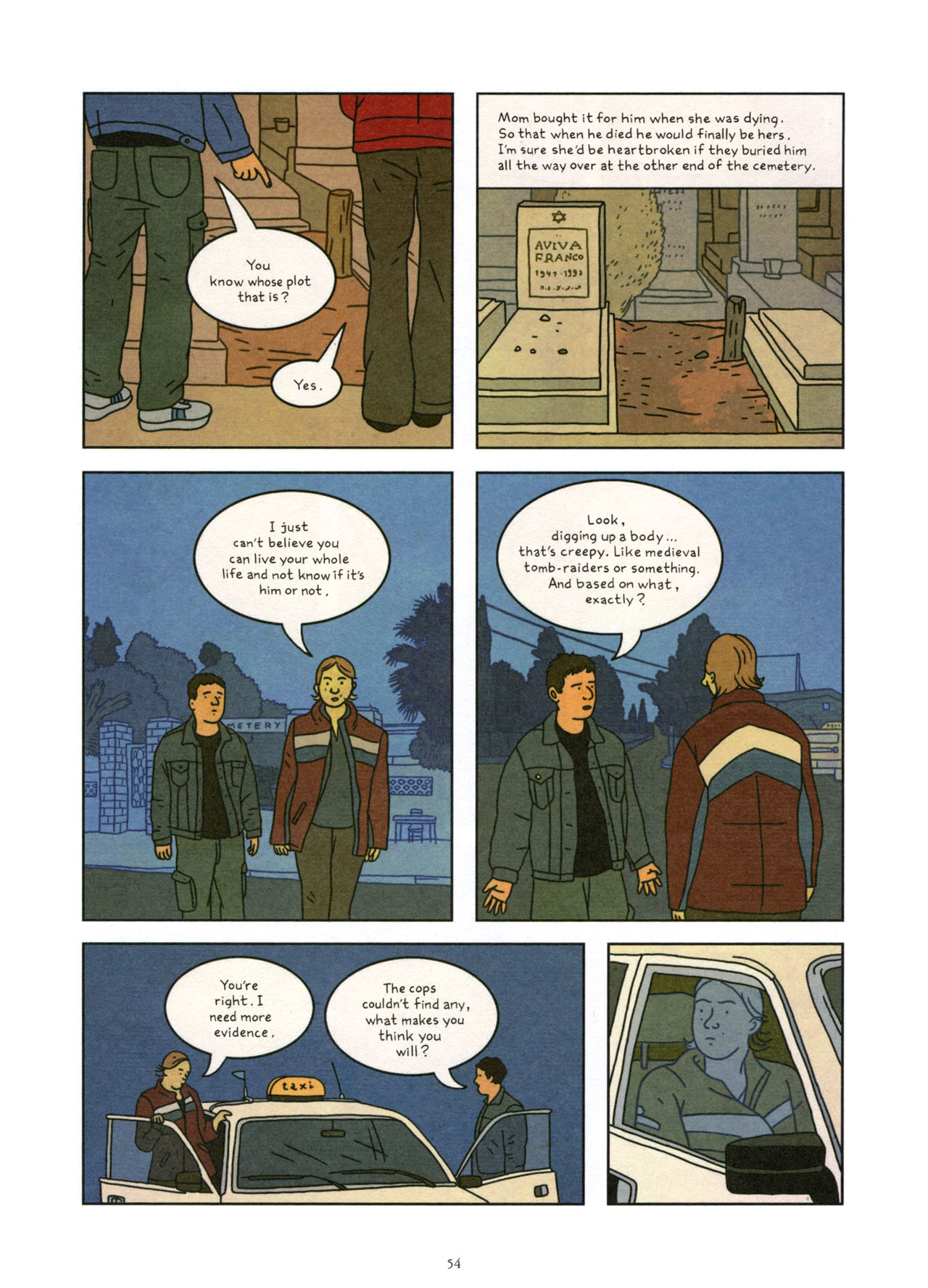 Read online Exit Wounds comic -  Issue # TPB - 55