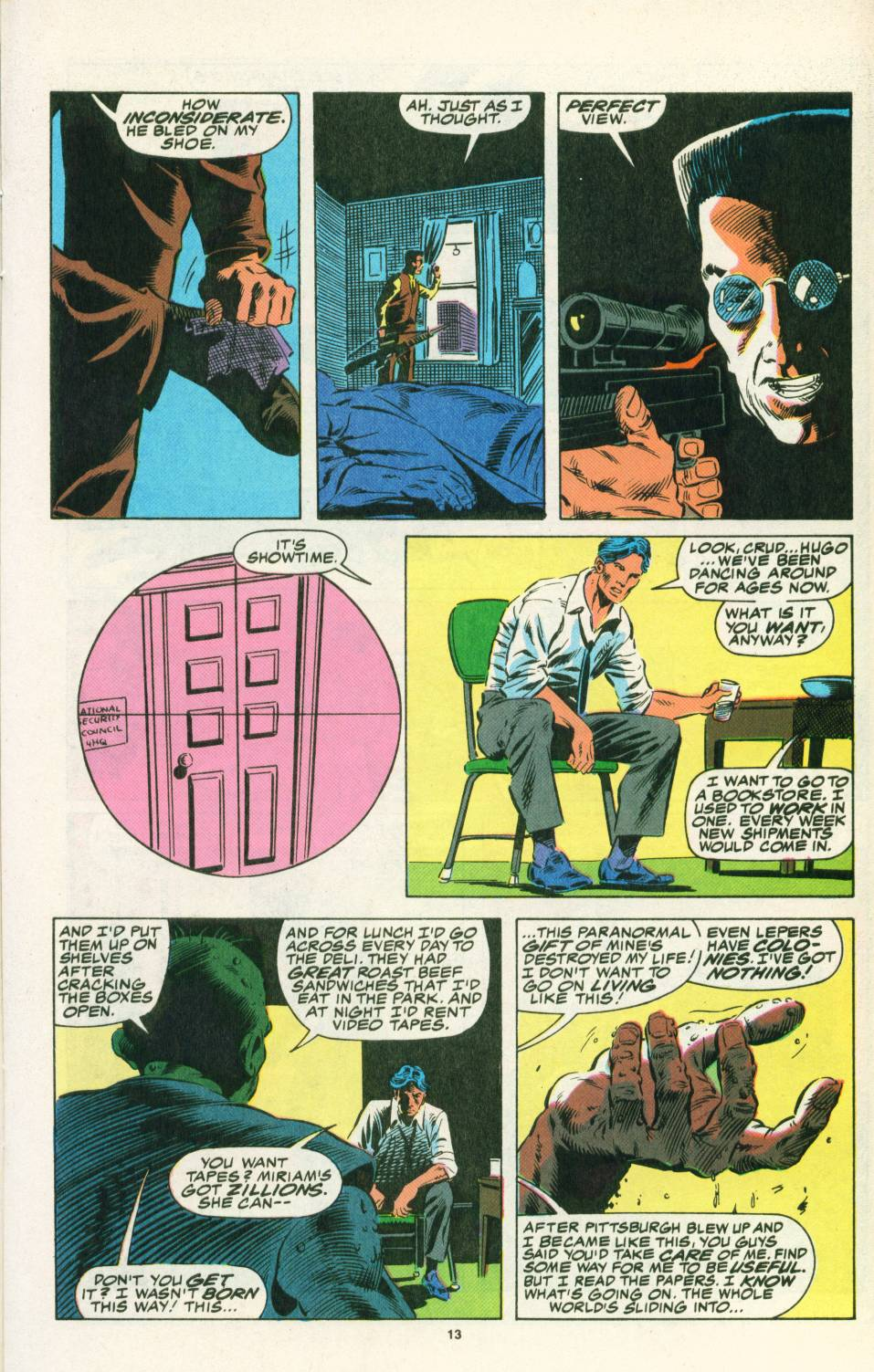 Read online Justice (1986) comic -  Issue #25 - 15