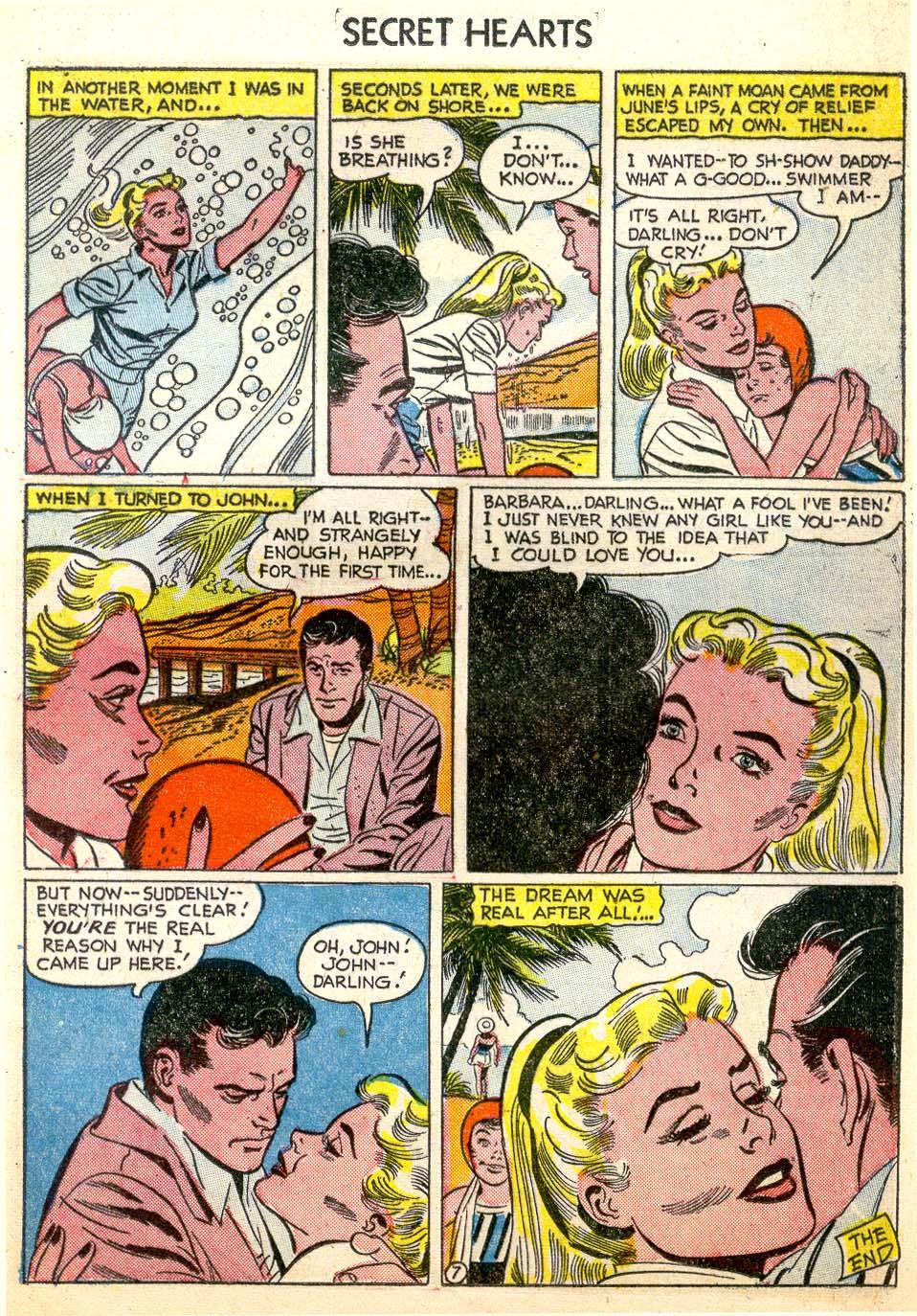 Read online Secret Hearts comic -  Issue #26 - 25