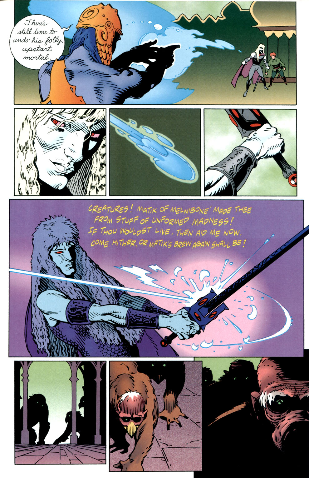 Read online Elric: Stormbringer comic -  Issue #3 - 21
