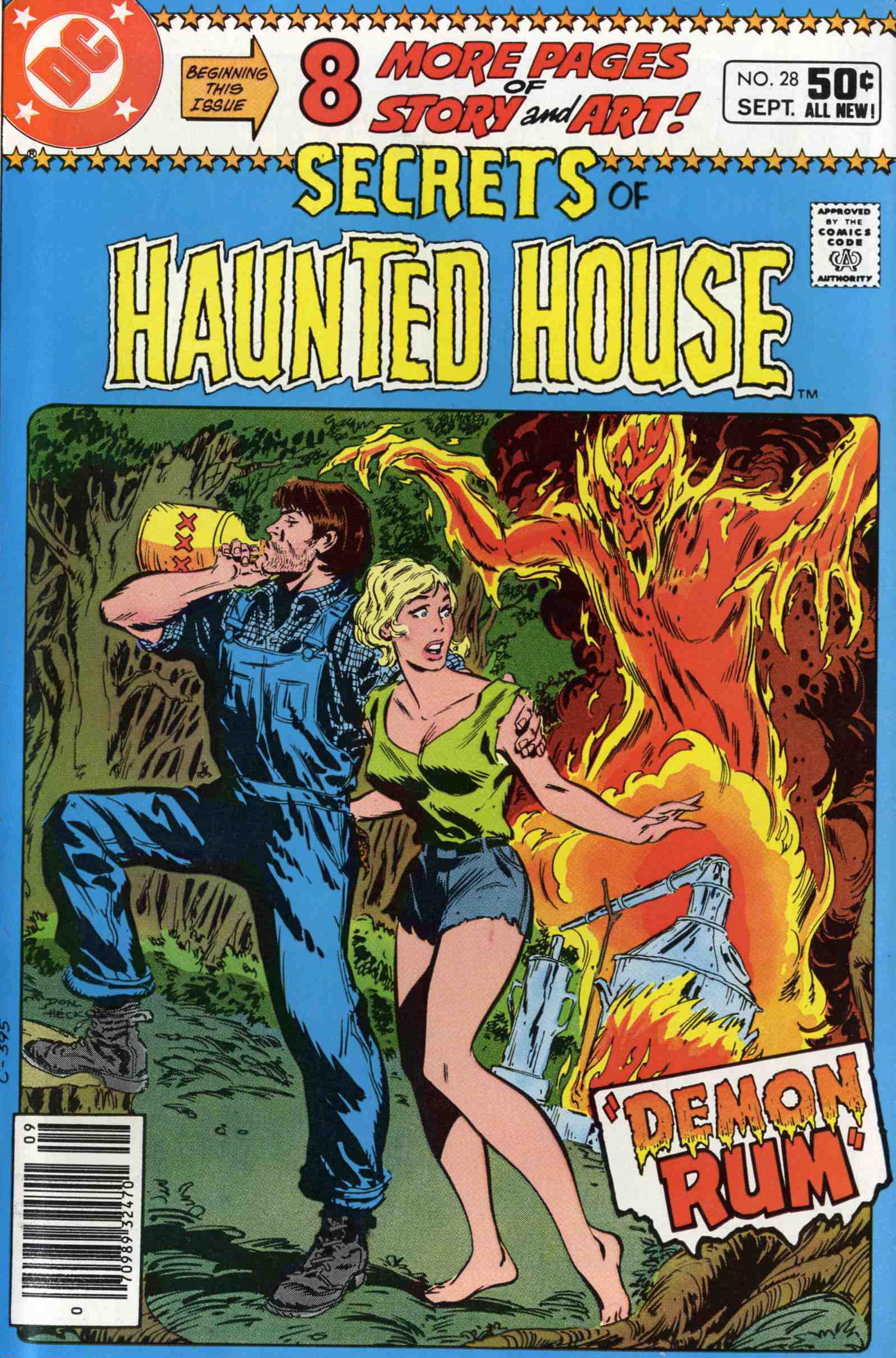 Read online Secrets of Haunted House comic -  Issue #28 - 1