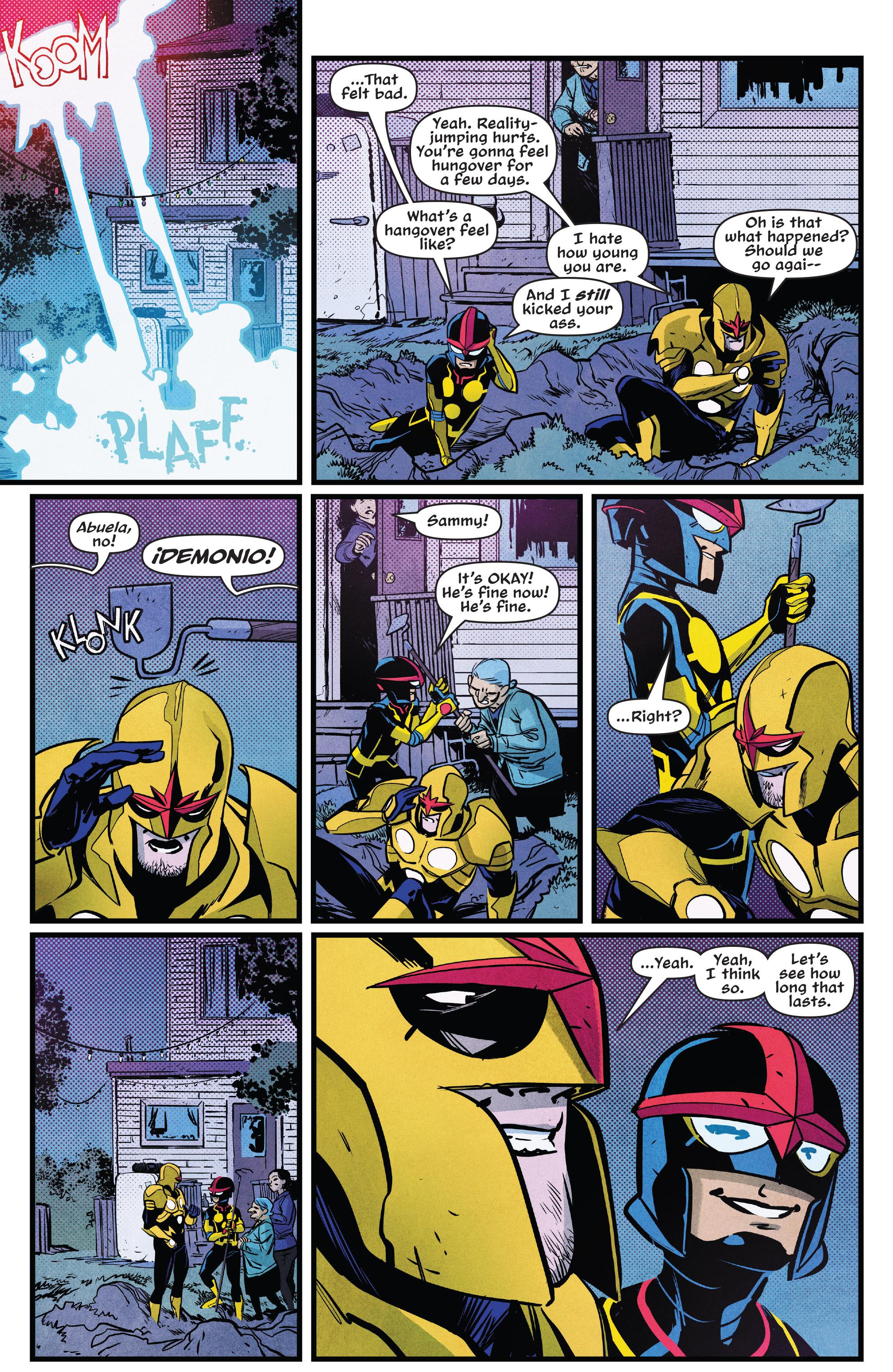 Read online Nova (2017) comic -  Issue #7 - 18
