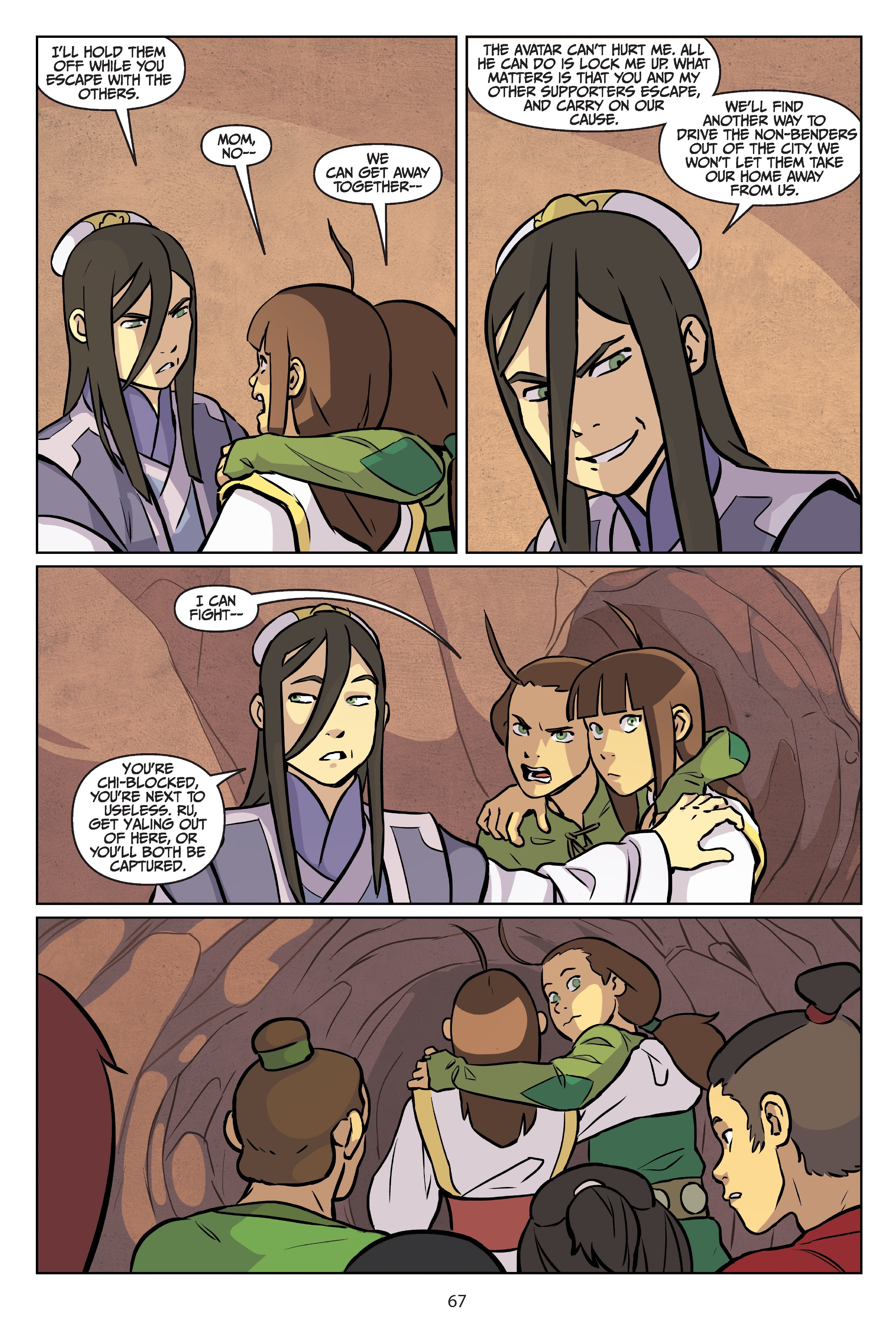Nickelodeon Avatar: The Last Airbender - Imbalance TPB_2 Page 67