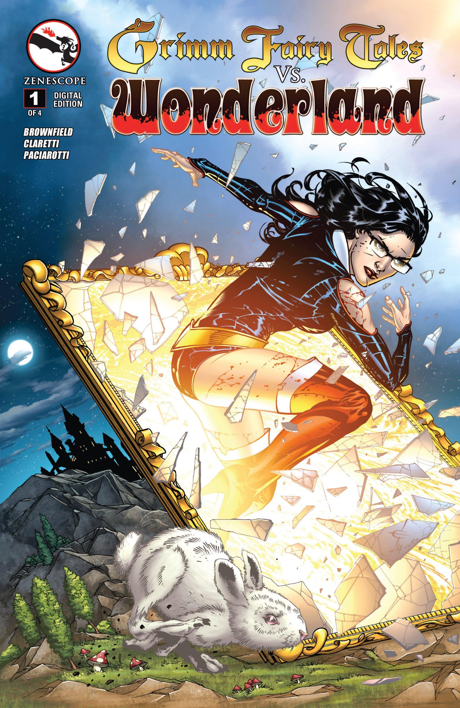 Read online Grimm Fairy Tales vs. Wonderland comic -  Issue #1 - 2