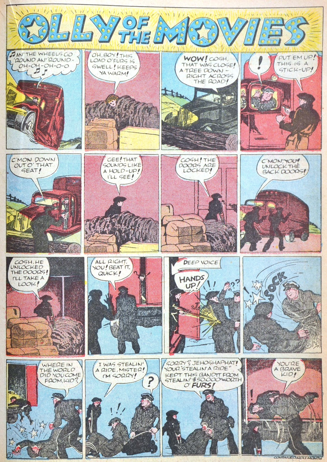 Read online Famous Funnies comic -  Issue #52 - 45