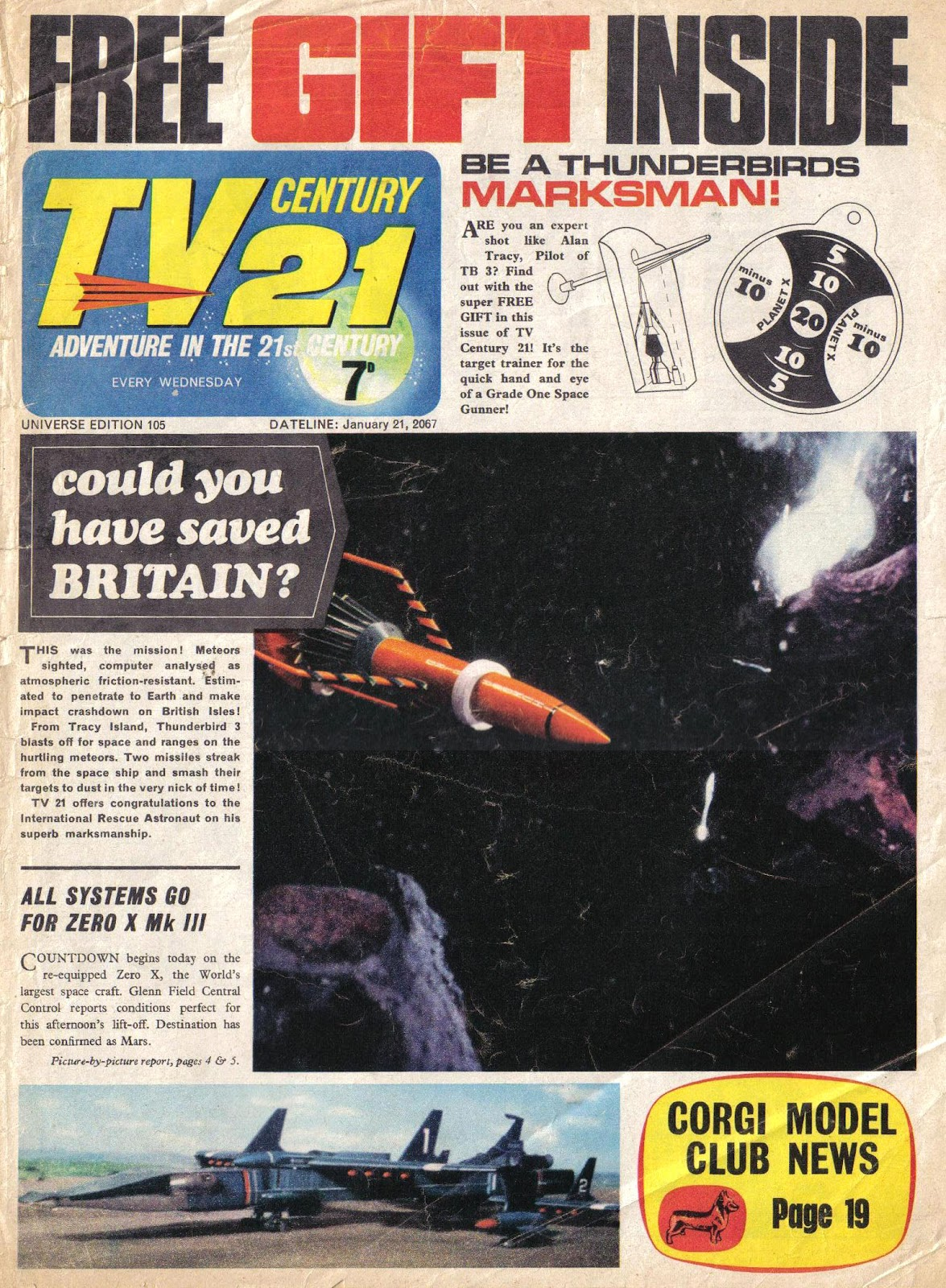 TV Century 21 (TV 21) 105 Page 1