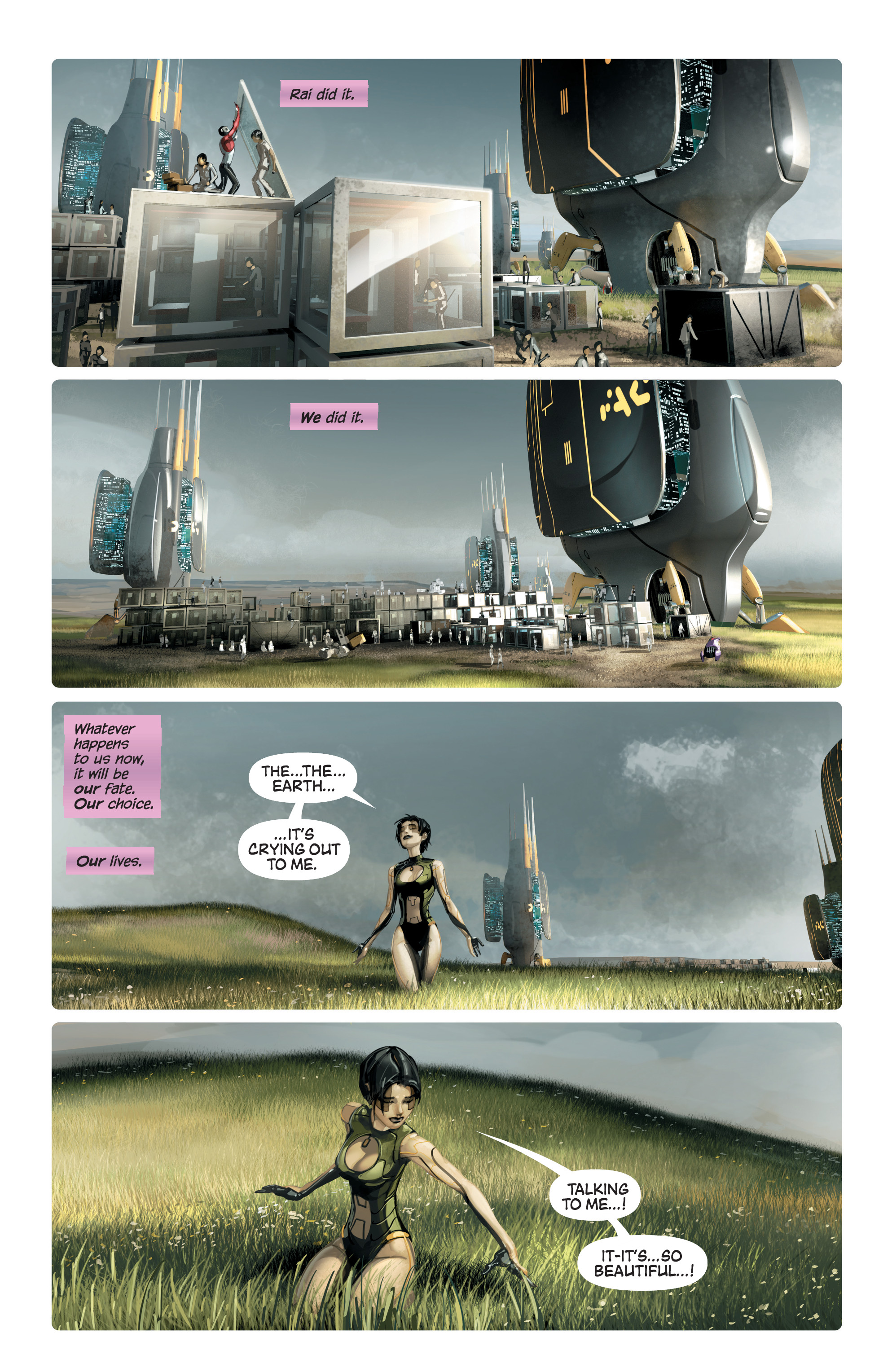 Read online 4001 A.D. comic -  Issue #4 - 15