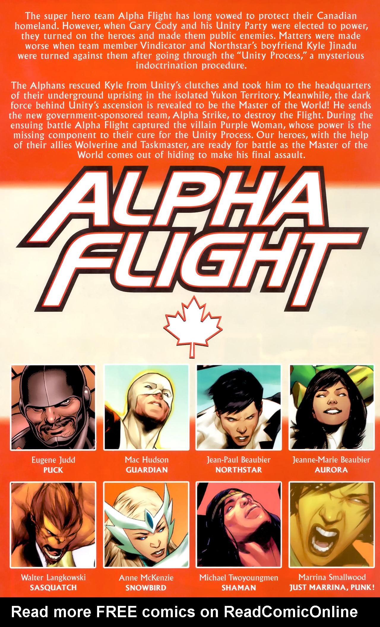 Read online Alpha Flight (2011) comic -  Issue #8 - 3