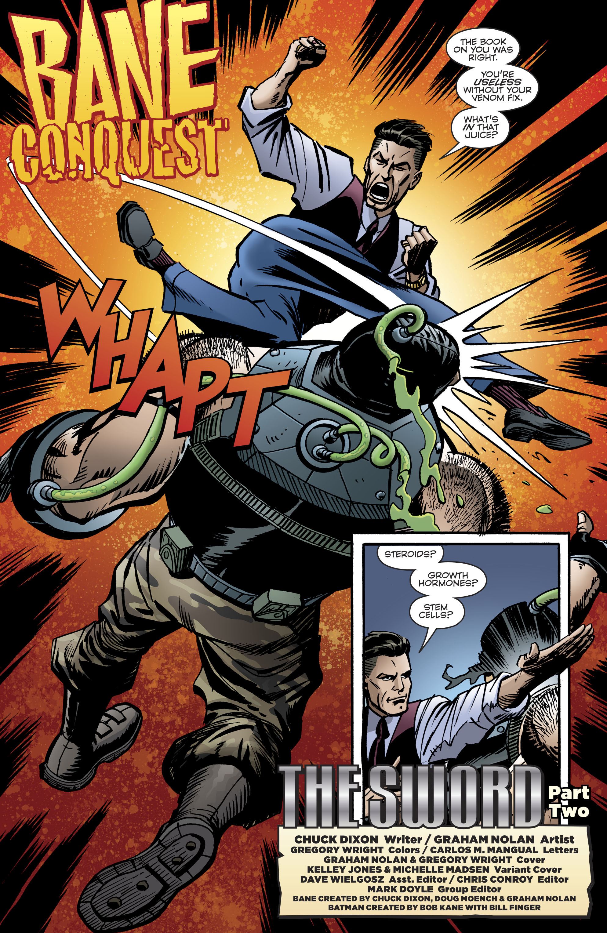 Read online Bane: Conquest comic -  Issue #2 - 4