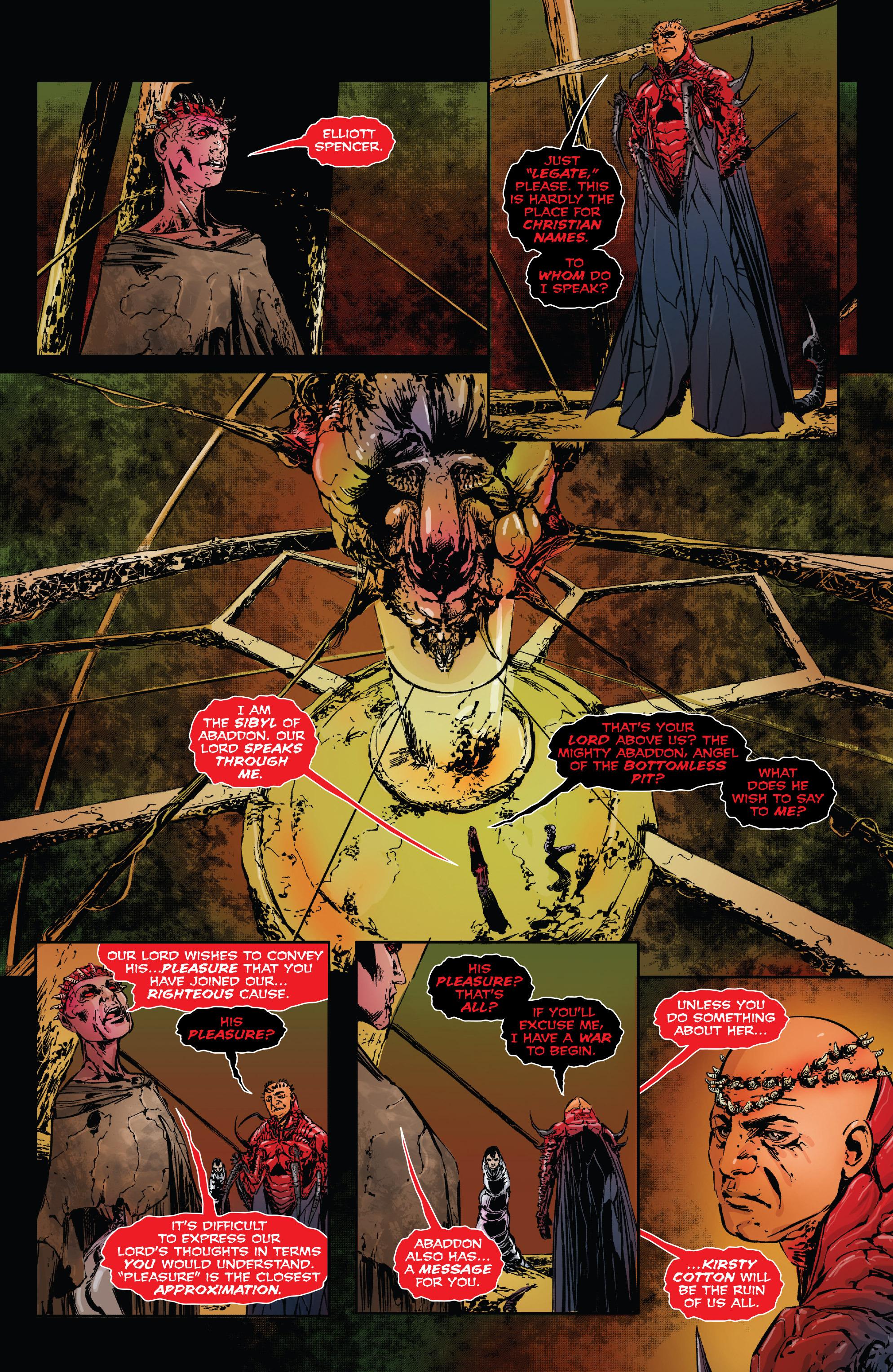 Read online Clive Barker's Hellraiser: The Dark Watch comic -  Issue # TPB 3 - 44