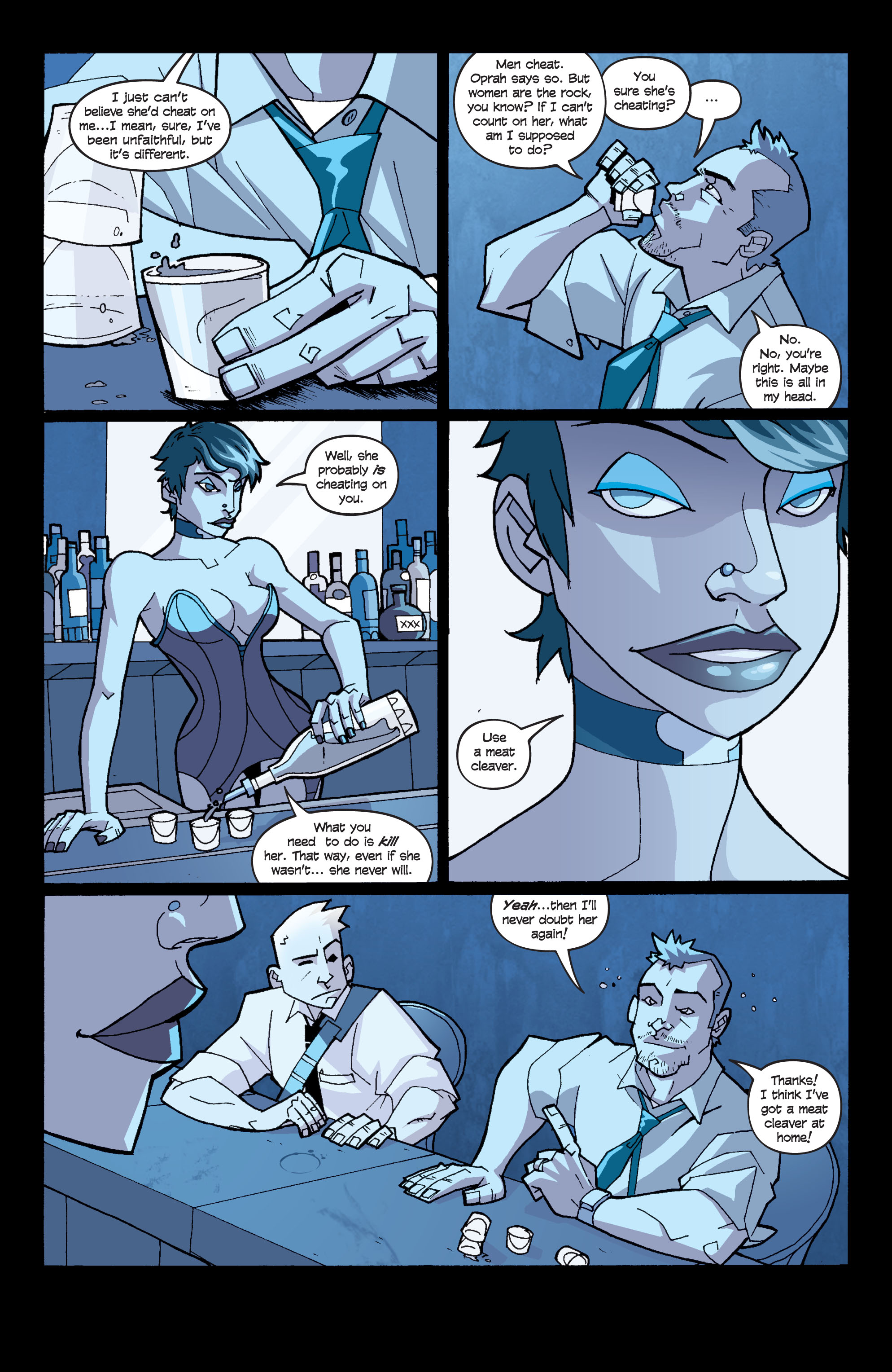 Read online Killer Of Demons comic -  Issue #1 - 5