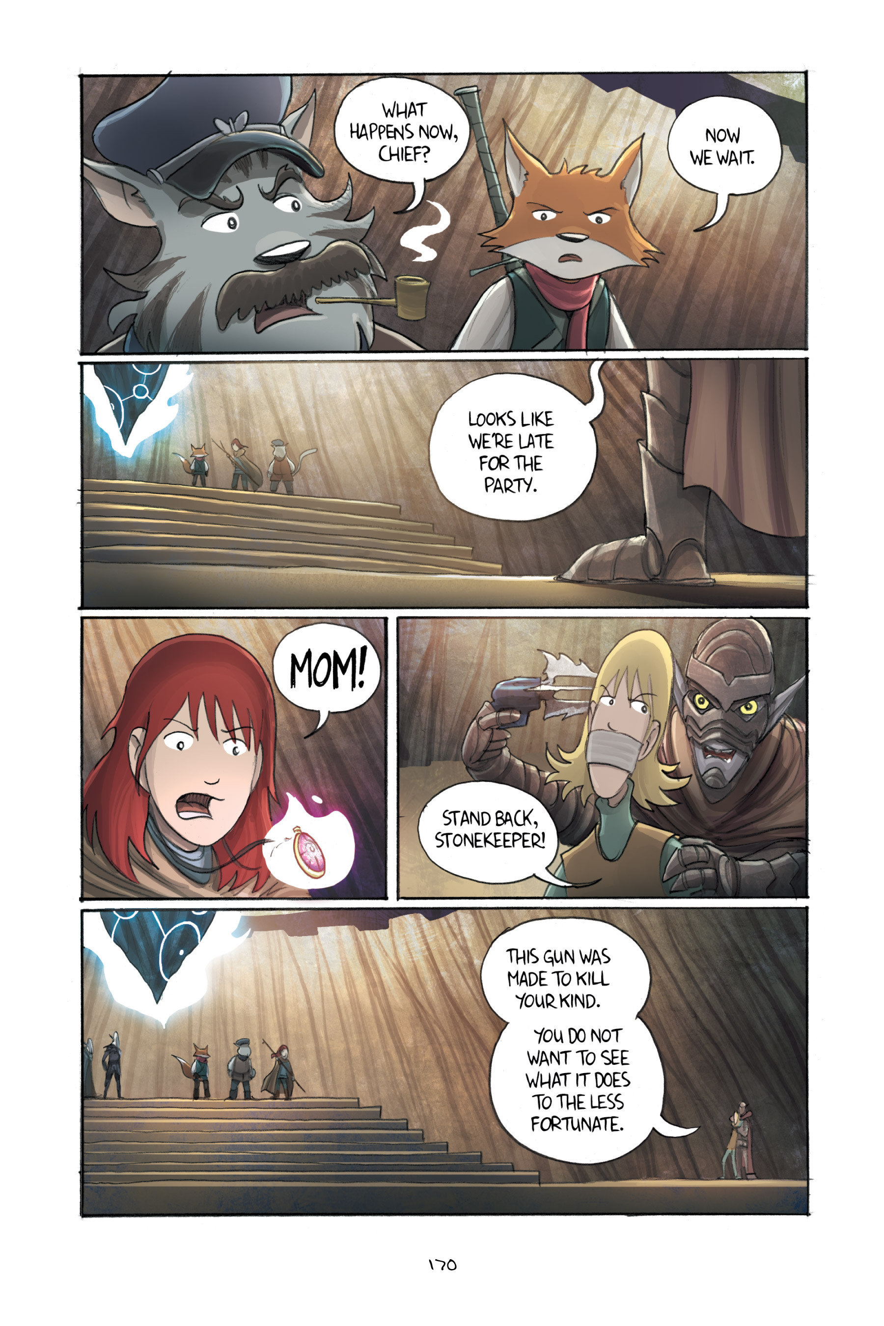 Read online Amulet comic -  Issue #3 - 166