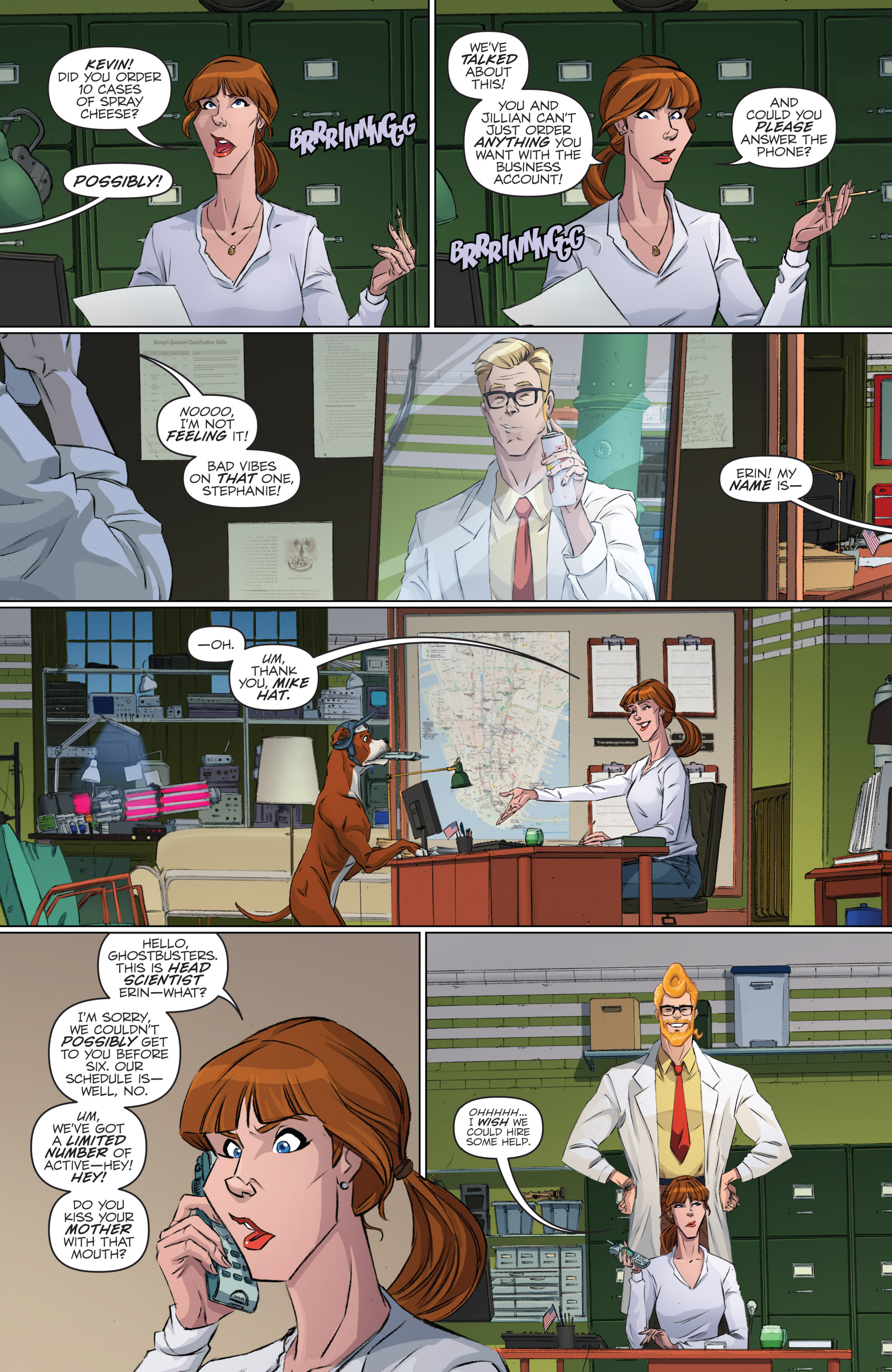 Read online Ghostbusters 101 comic -  Issue #2 - 10