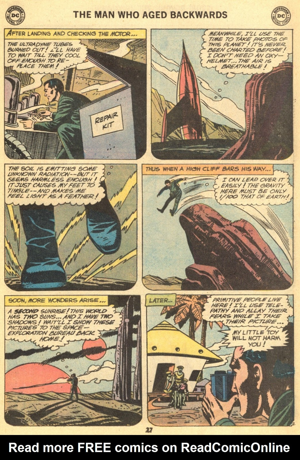 From Beyond the Unknown (1969) issue 9 - Page 29