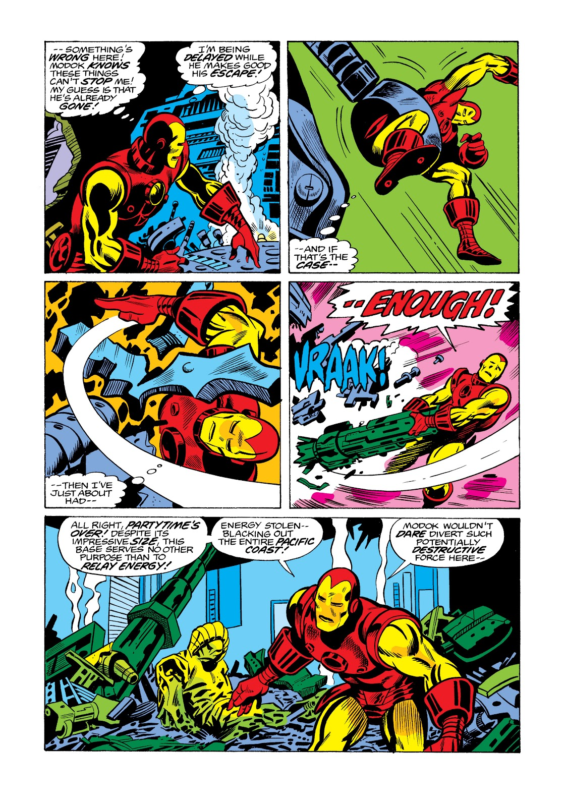 Read online Marvel Masterworks: The Invincible Iron Man comic -  Issue # TPB 11 (Part 3) - 90