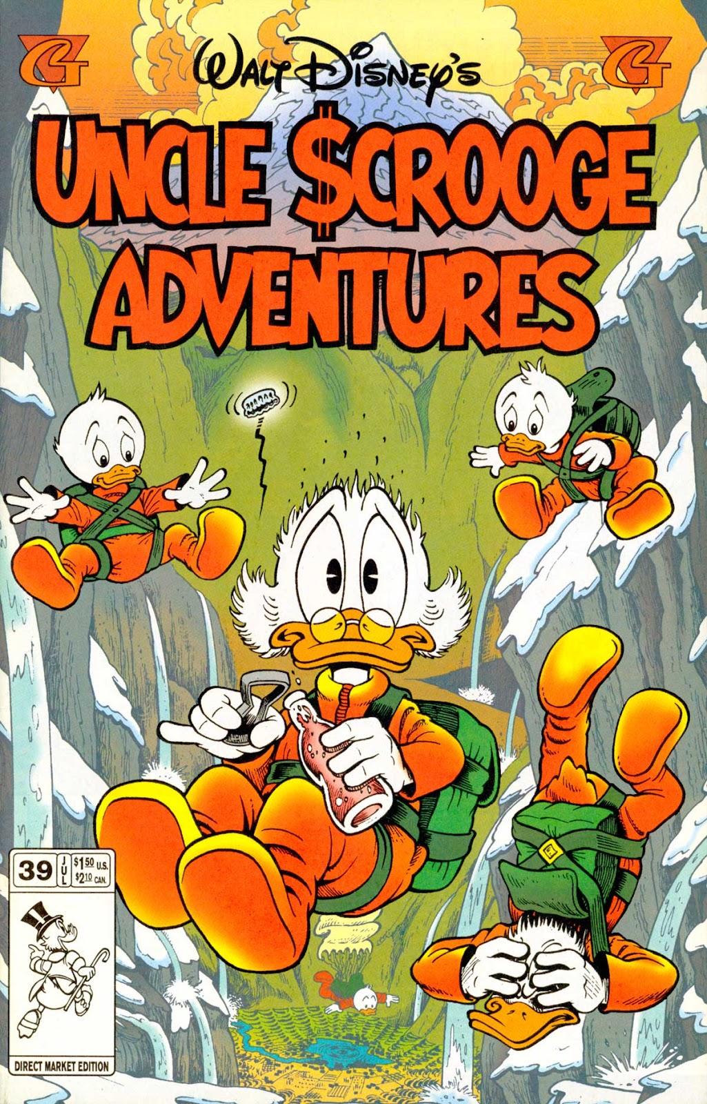 Walt Disney's Uncle Scrooge Adventures issue 39 - Page 1