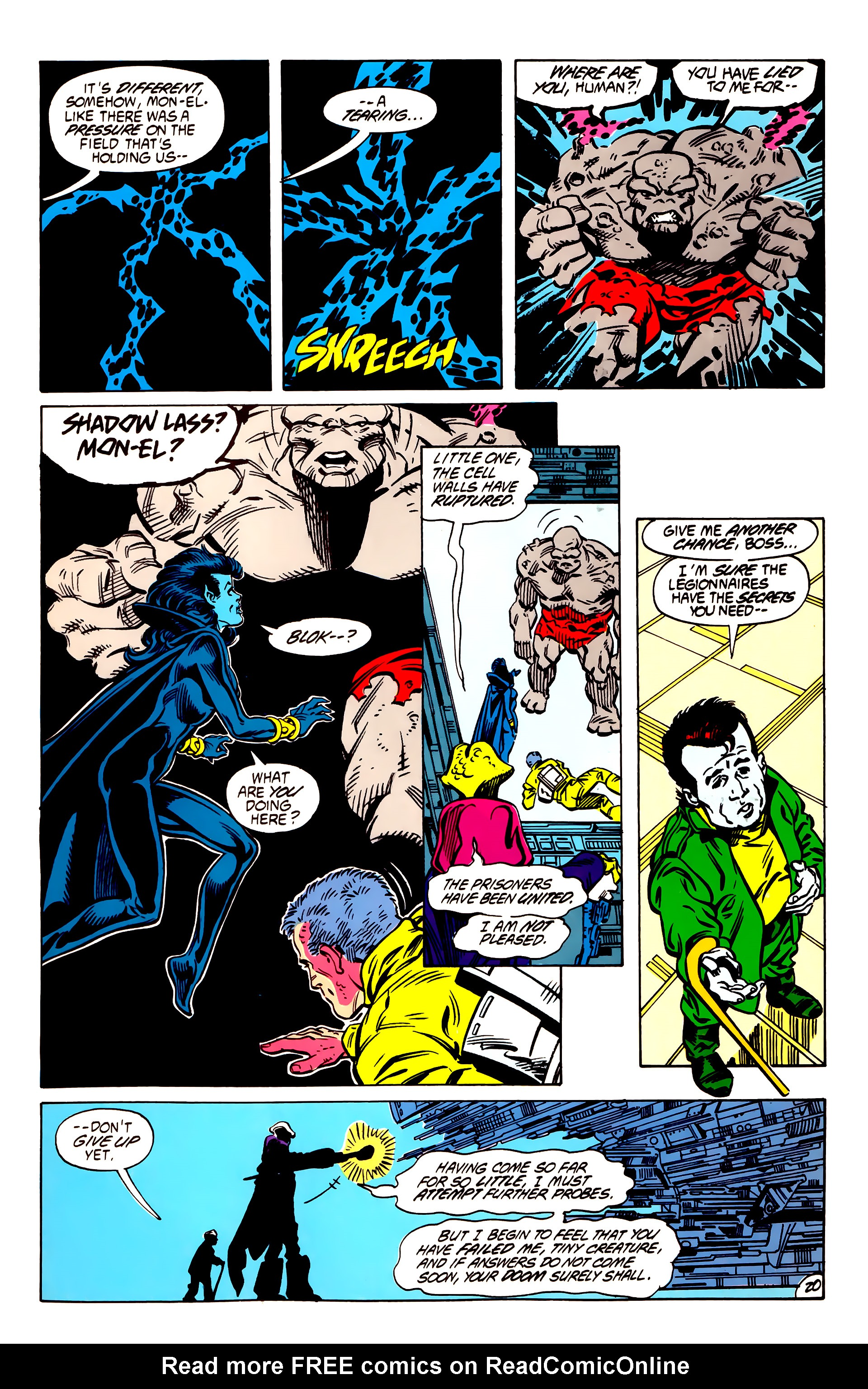 Legion of Super-Heroes (1984) 56 Page 20