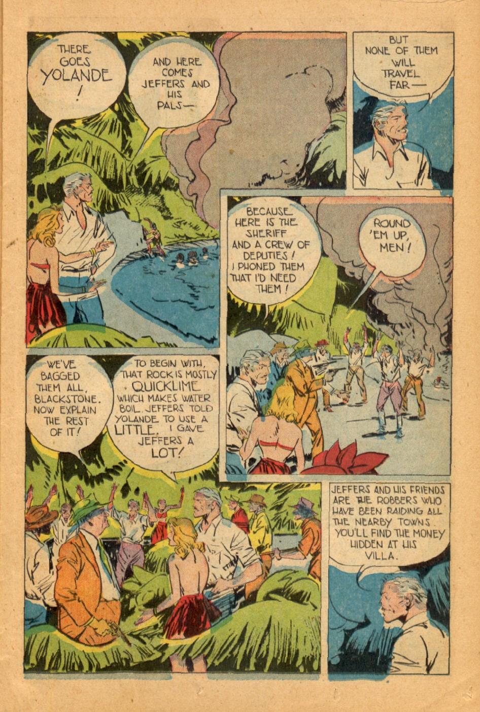 Read online Super-Magician Comics comic -  Issue #45 - 15