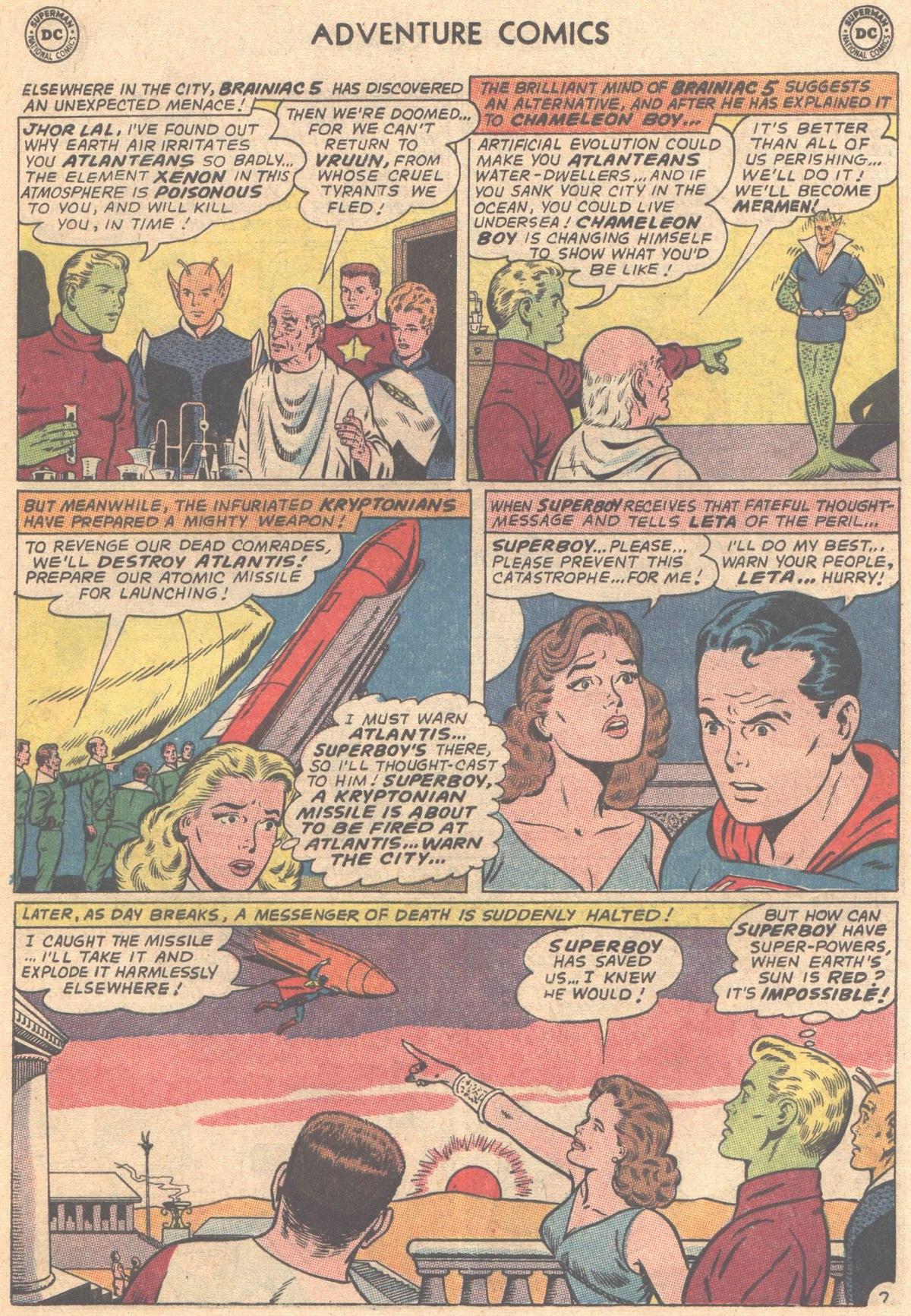 Read online Adventure Comics (1938) comic -  Issue #333 - 17
